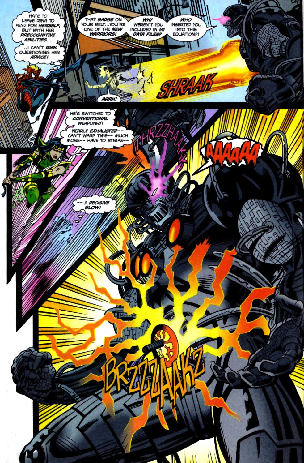 The New Warriors Issue #71 #75 - English 11