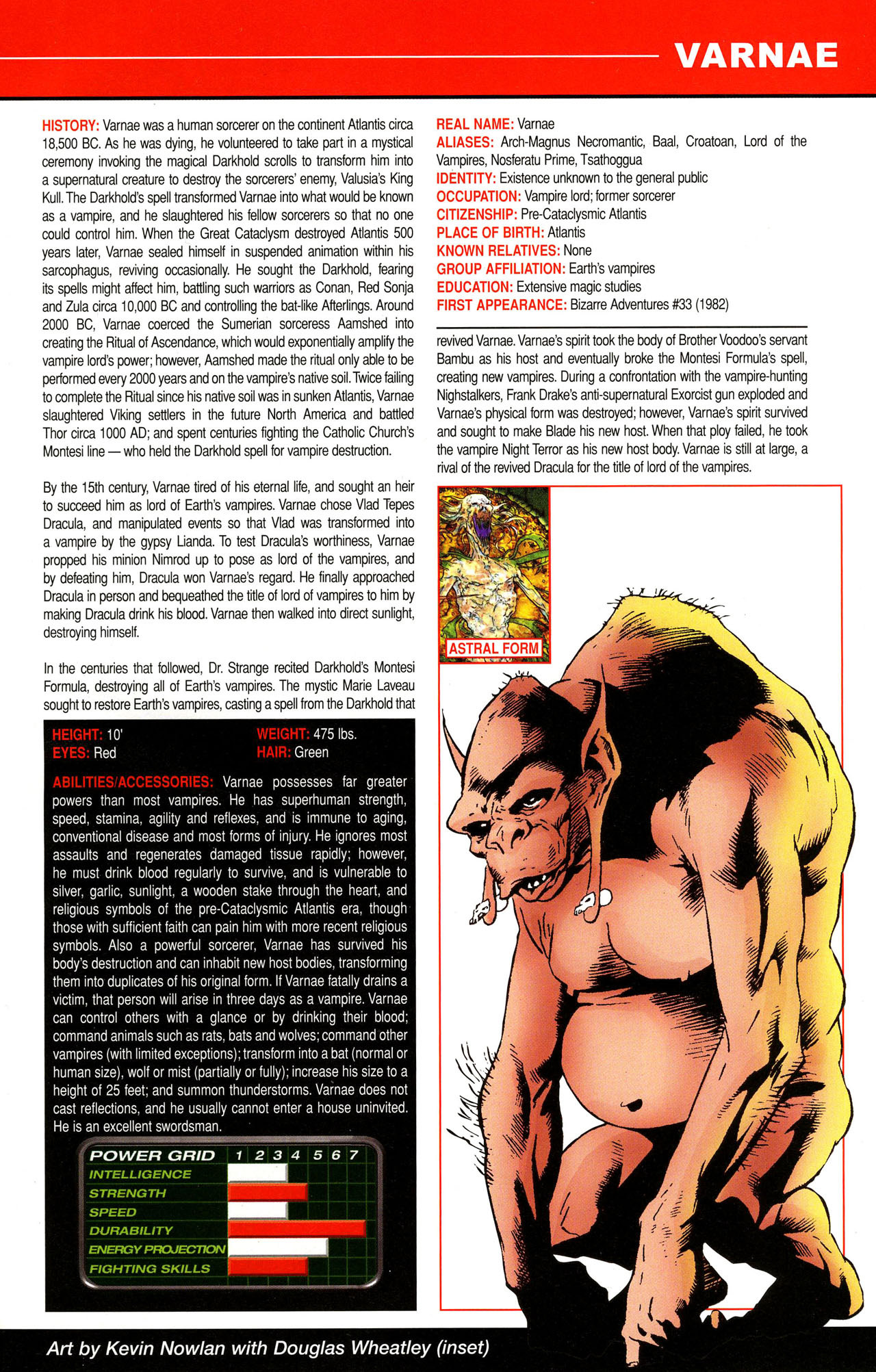 Read online All-New Official Handbook of the Marvel Universe A to Z comic -  Issue #12 - 15
