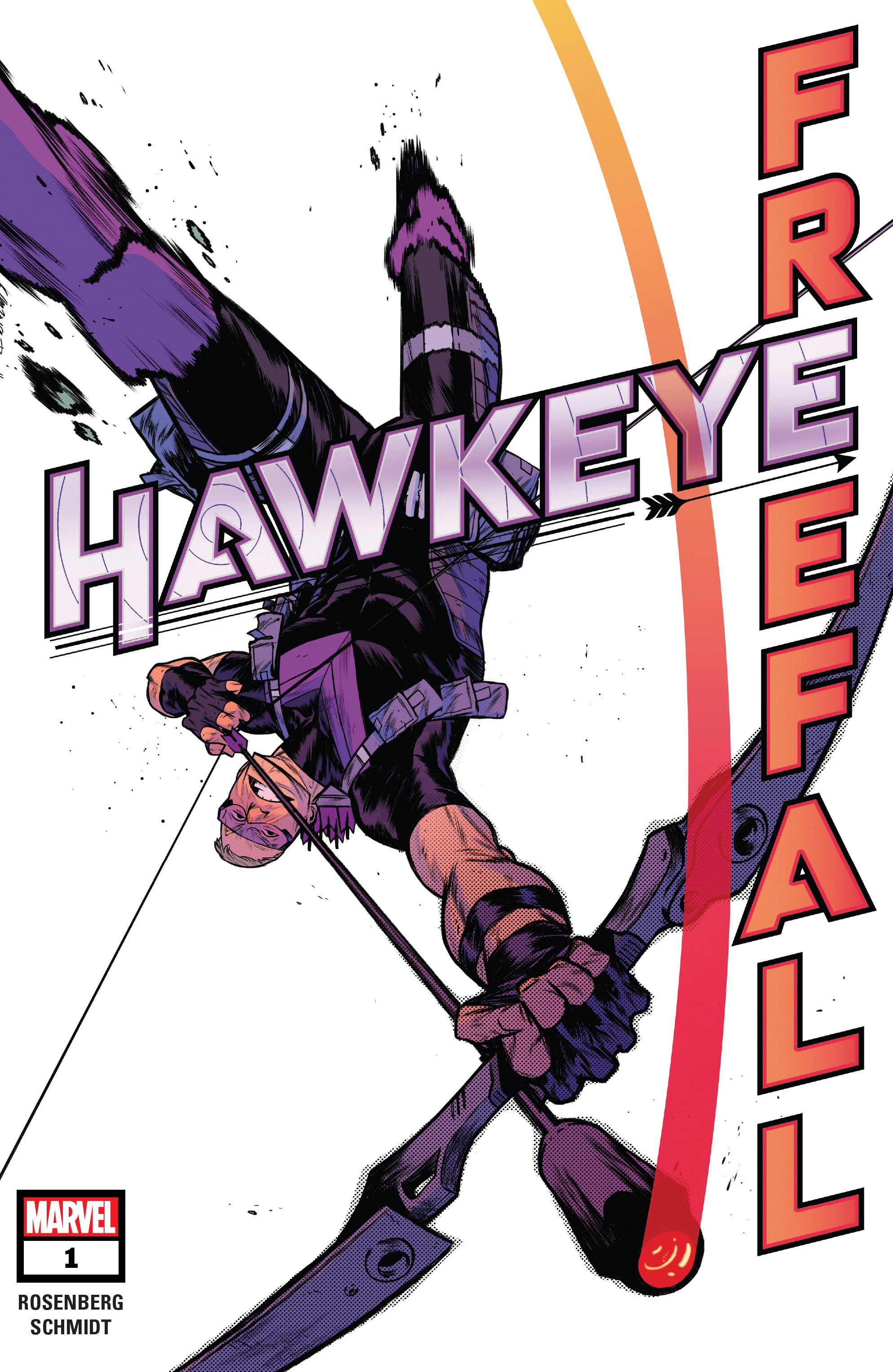 Hawkeye: Freefall issue 1 - Page 1