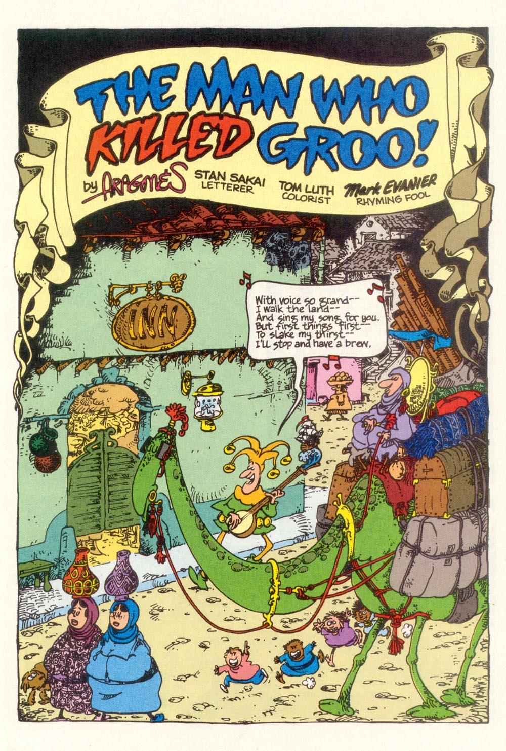 Read online Sergio Aragonés Groo the Wanderer comic -  Issue #111 - 3