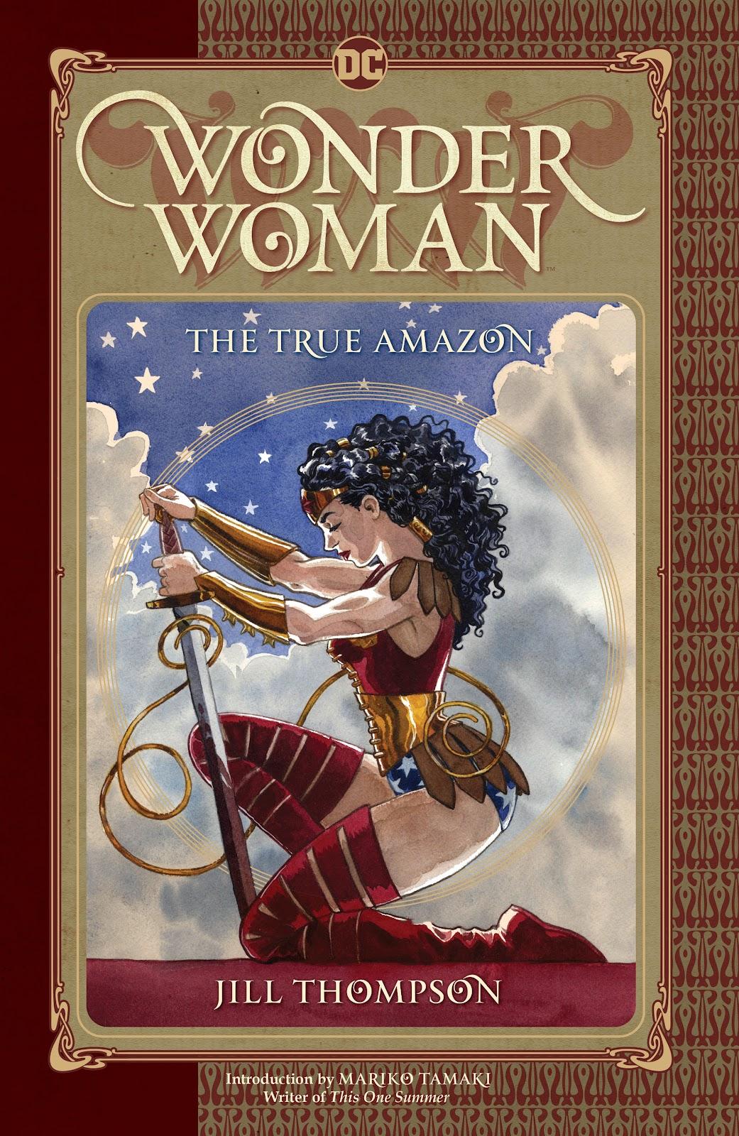 Wonder Woman: The True Amazon Full Page 1