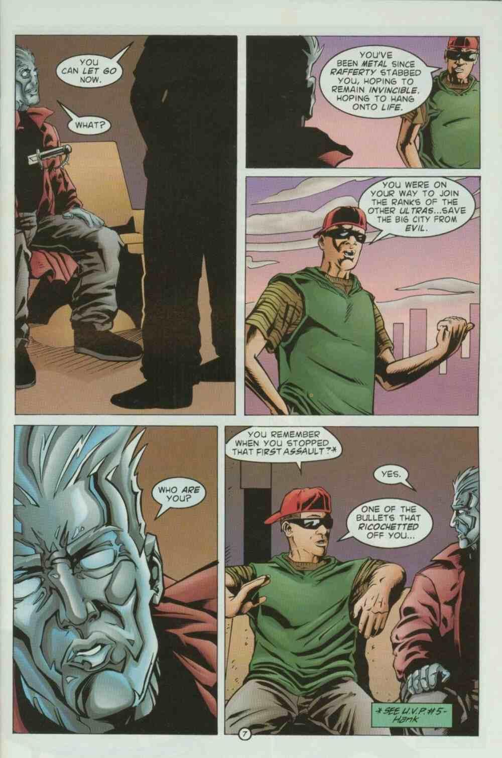 Read online Ultraverse Premiere comic -  Issue #7 - 9