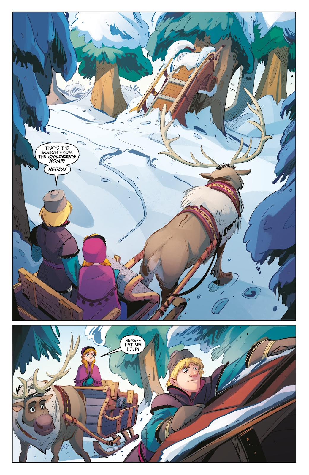 Read online Disney Frozen: The Hero Within comic -  Issue #2 - 12