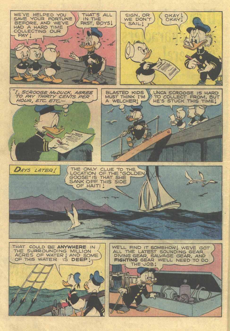 Read online Uncle Scrooge (1953) comic -  Issue #105 - 8