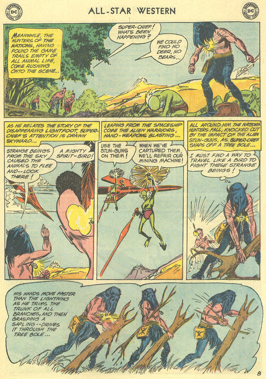Read online All-Star Western (1951) comic -  Issue #119 - 29