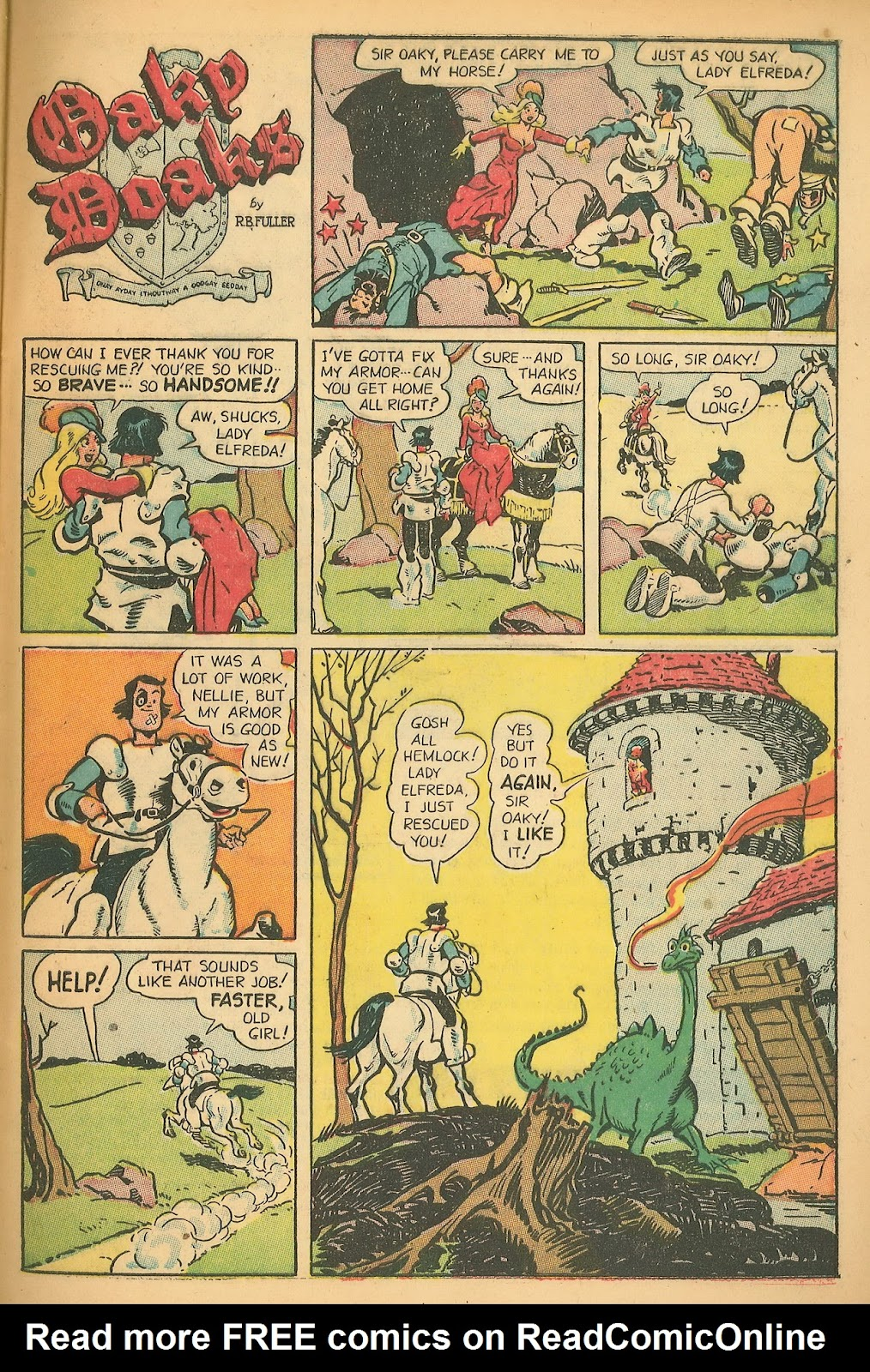 Read online Famous Funnies comic -  Issue #199 - 33