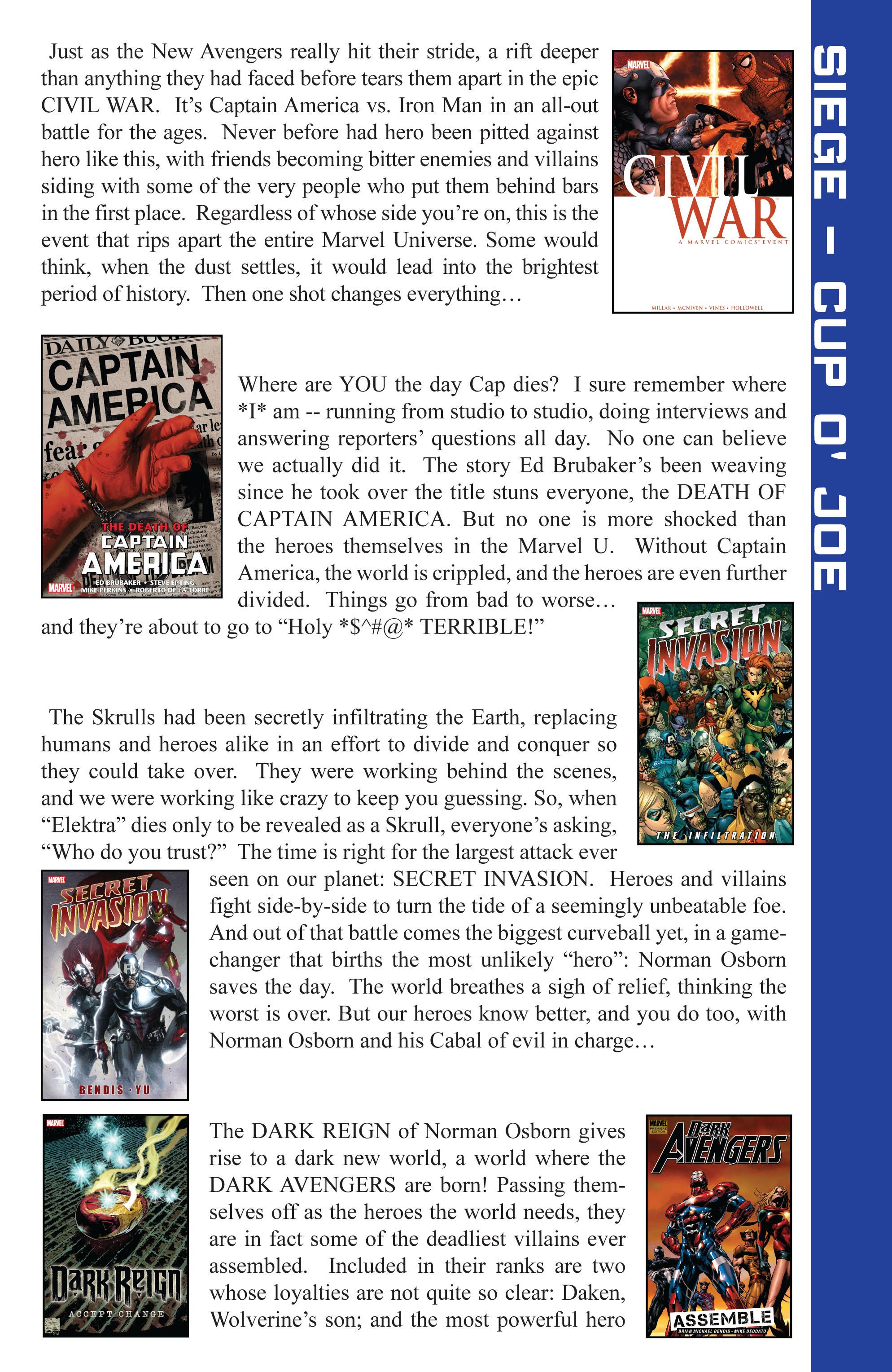 Read online Siege (2010) comic -  Issue #1 - 26