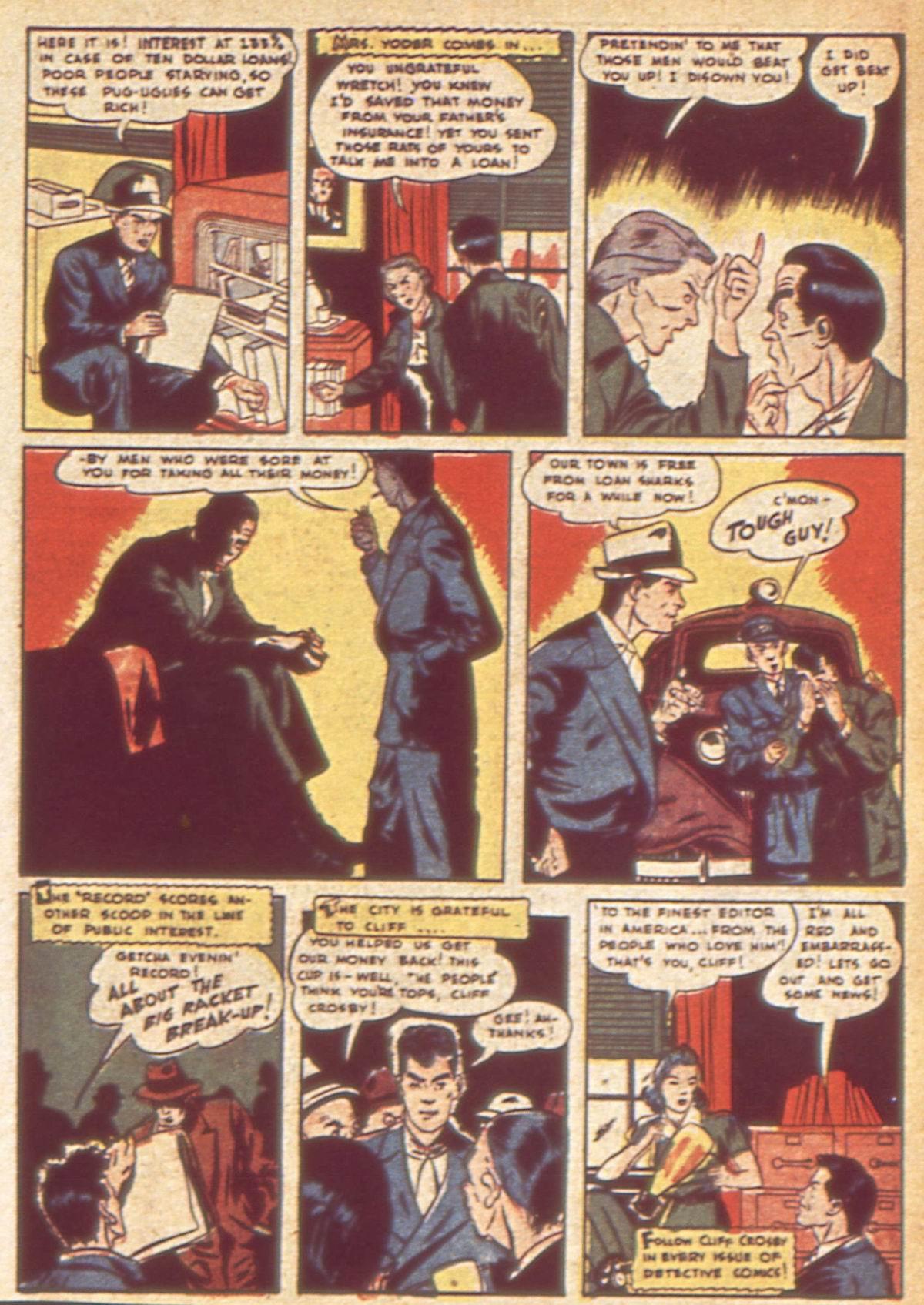 Read online Detective Comics (1937) comic -  Issue #49 - 49