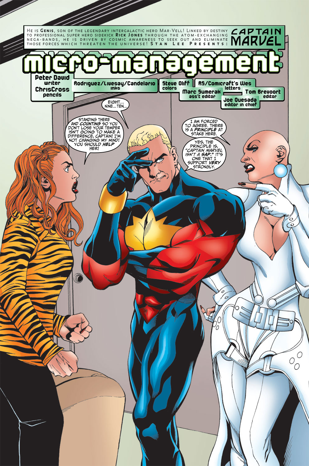 Captain Marvel (1999) Issue #15 #16 - English 4