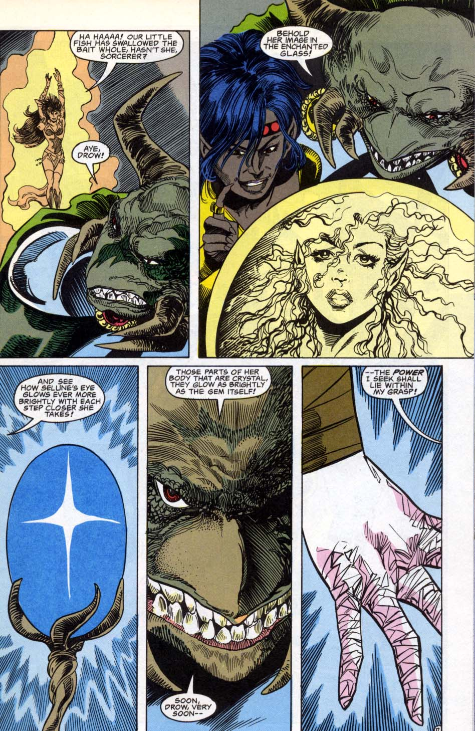 Read online Advanced Dungeons & Dragons comic -  Issue #3 - 17