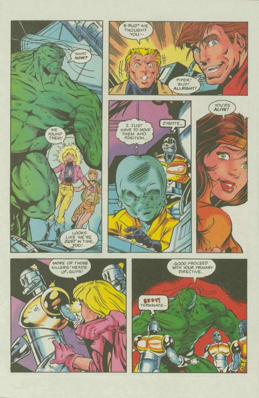 Read online Ex-Mutants comic -  Issue #7 - 23