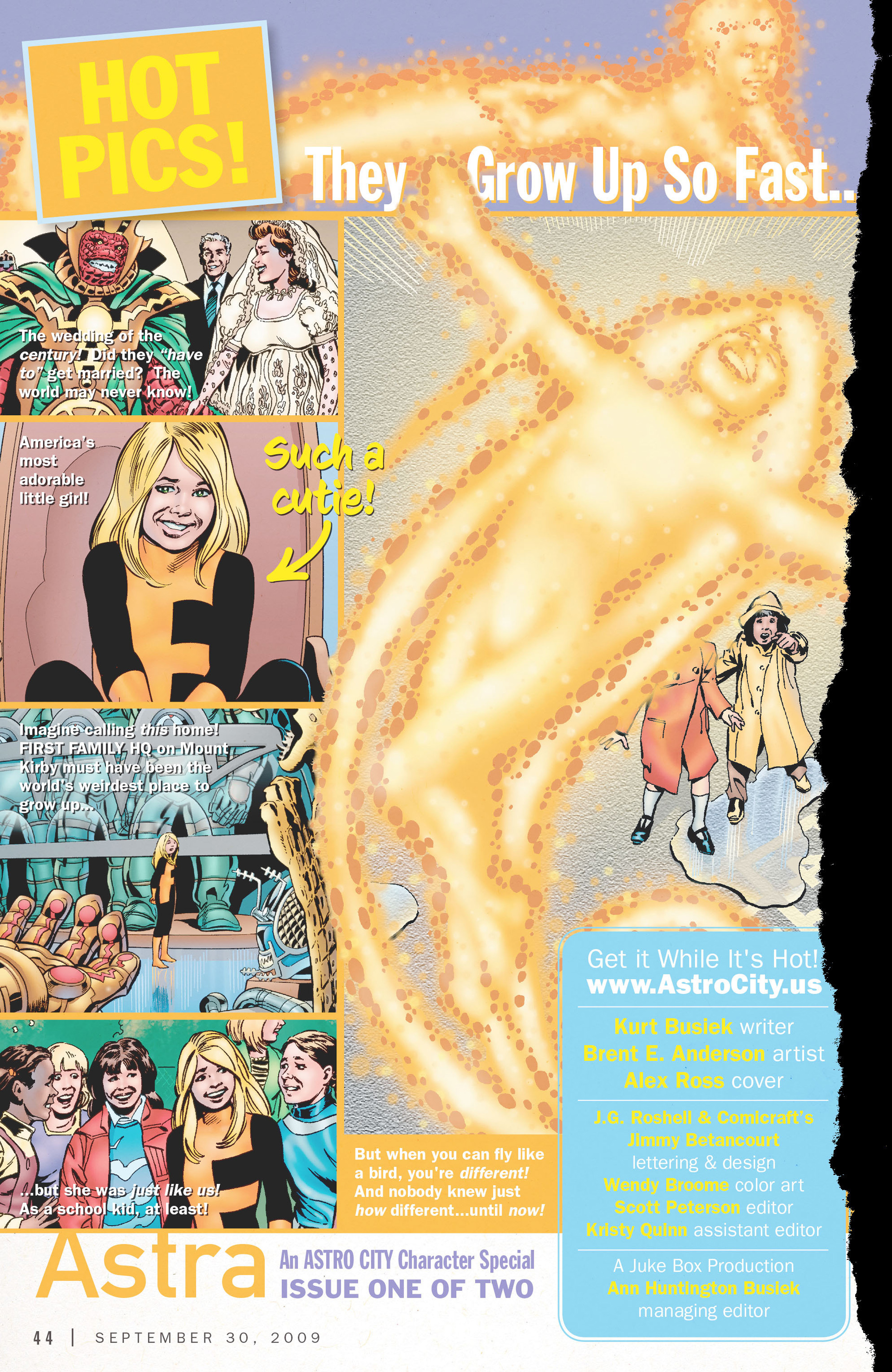 Read online Astro City: Astra Special comic -  Issue #1 - 2