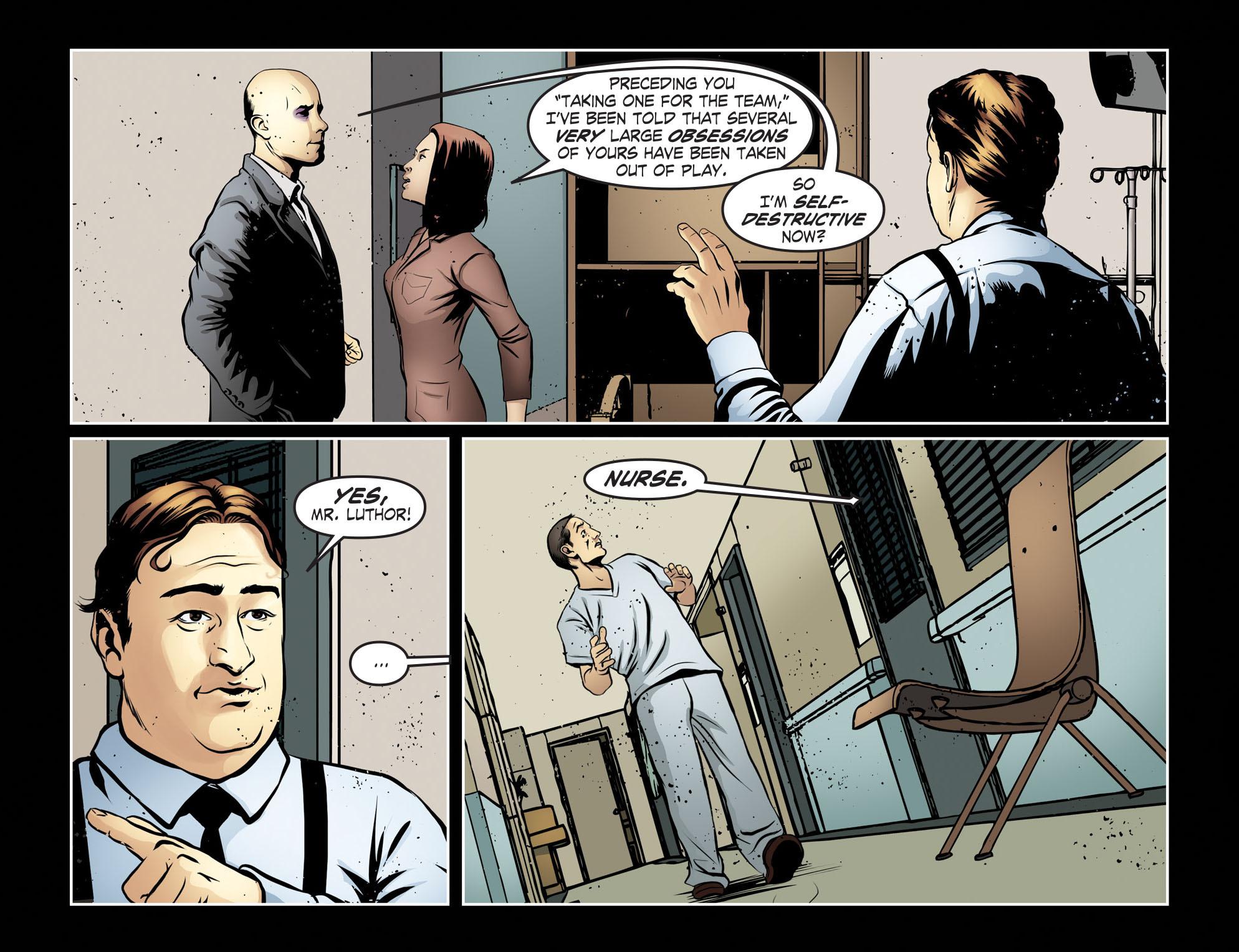 Read online Smallville: Season 11 comic -  Issue #55 - 8
