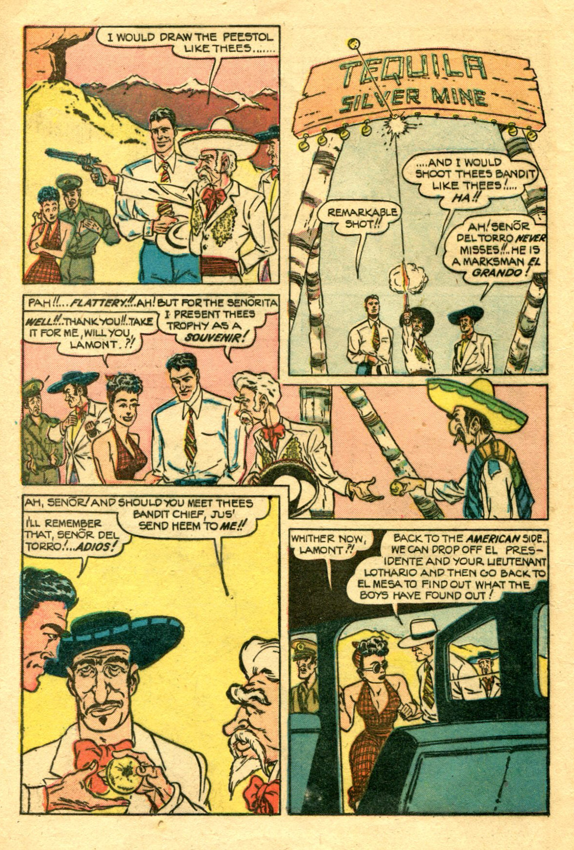 Read online Shadow Comics comic -  Issue #75 - 5