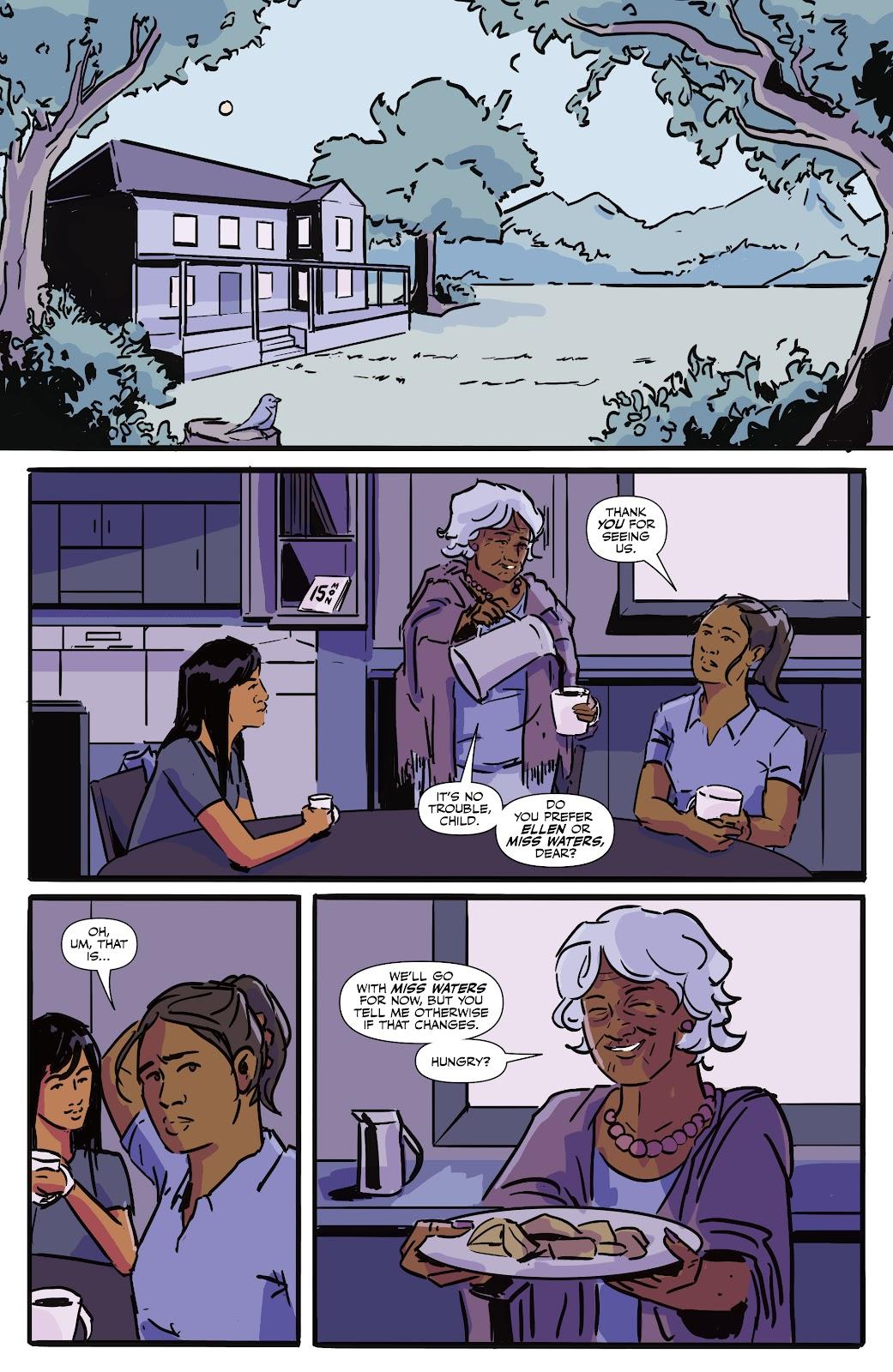 Read online Black (AF): Devil's Dye comic -  Issue #3 - 3