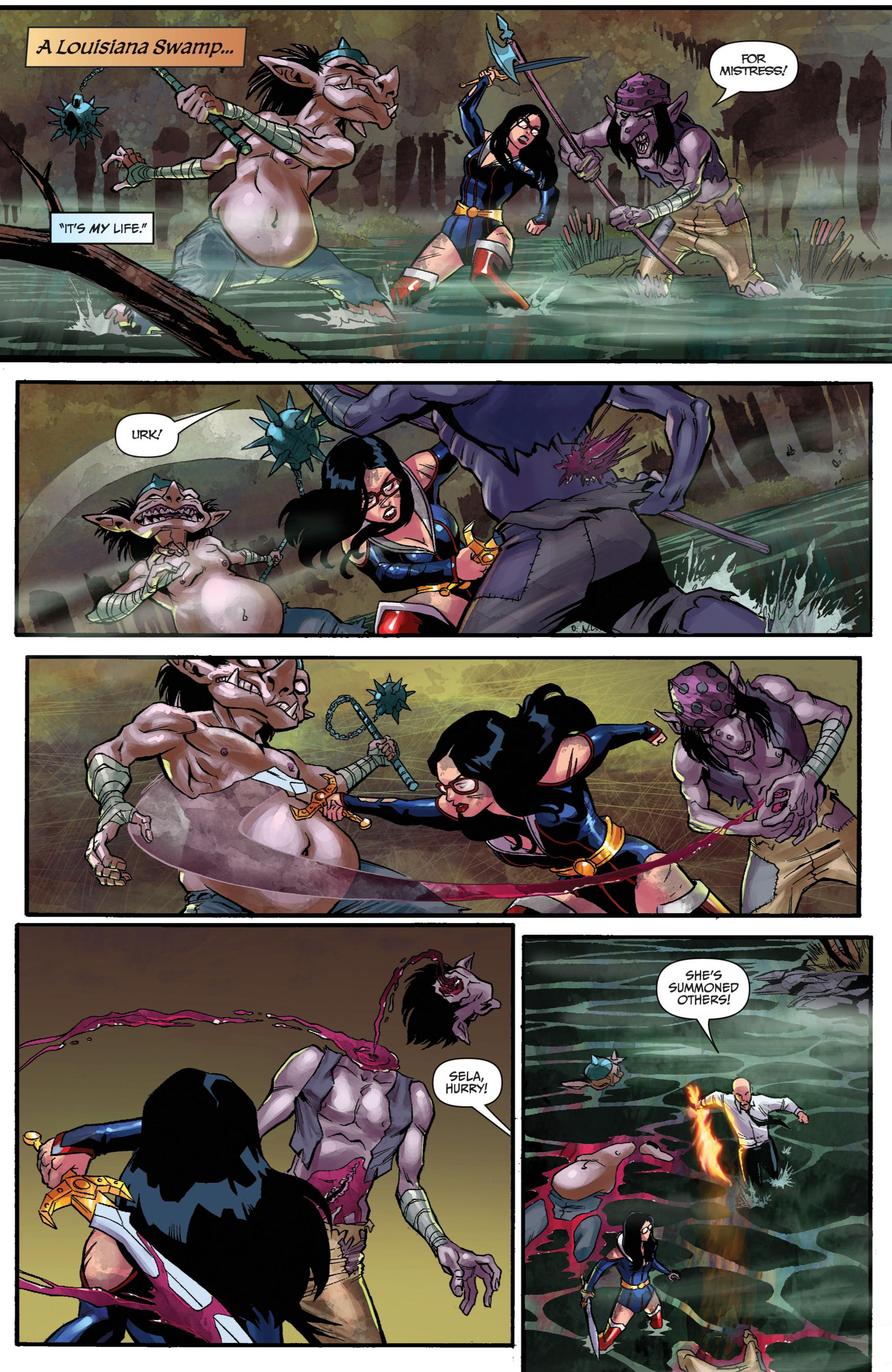 Read online Snow White vs. Snow White comic -  Issue #2 - 5