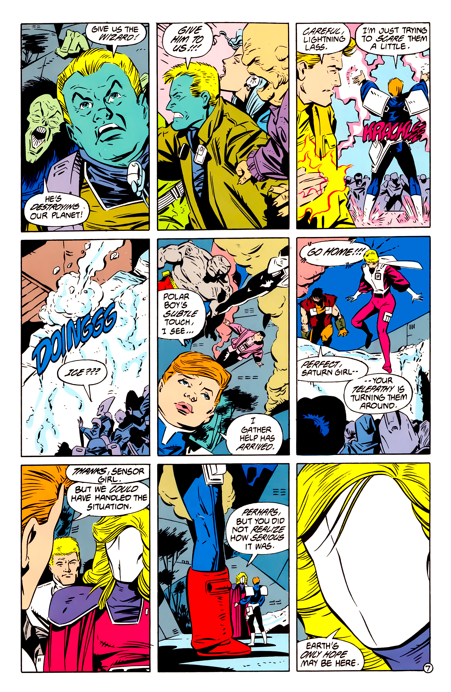 Legion of Super-Heroes (1984) 61 Page 7