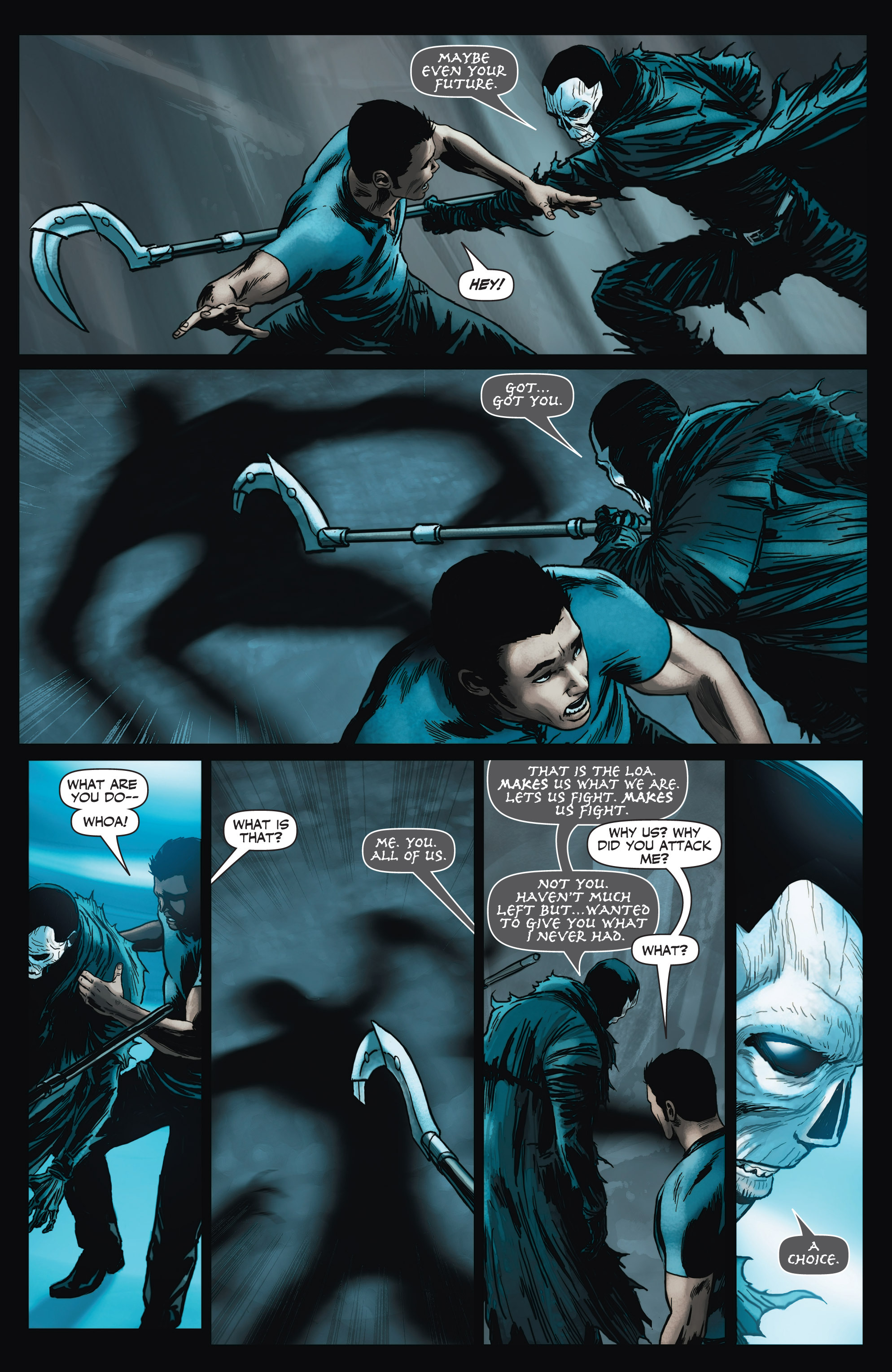 Read online Shadowman (2012) comic -  Issue #3 - 19