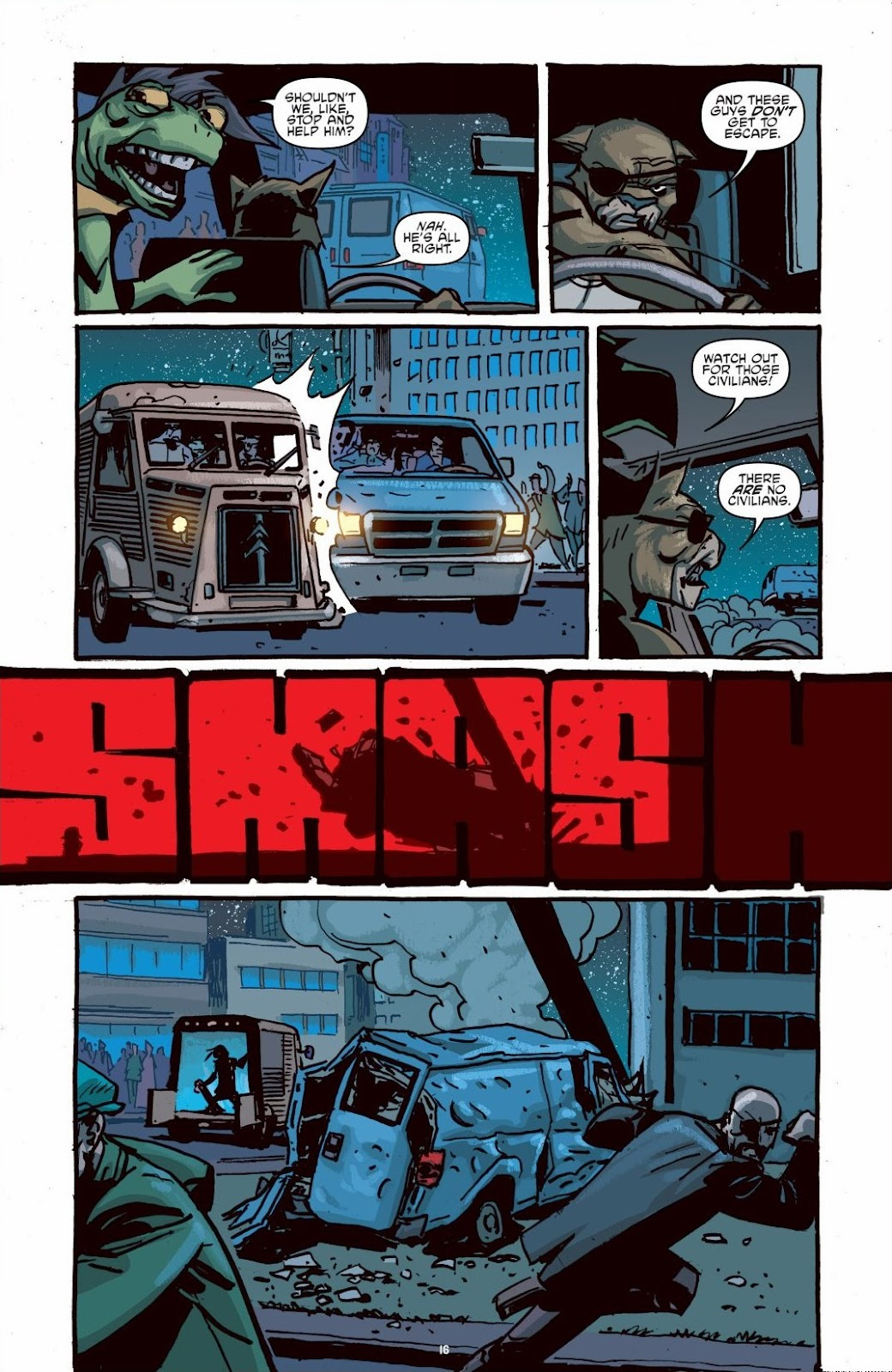 Read online Teenage Mutant Ninja Turtles: The IDW Collection comic -  Issue # TPB 6 (Part 1) - 15