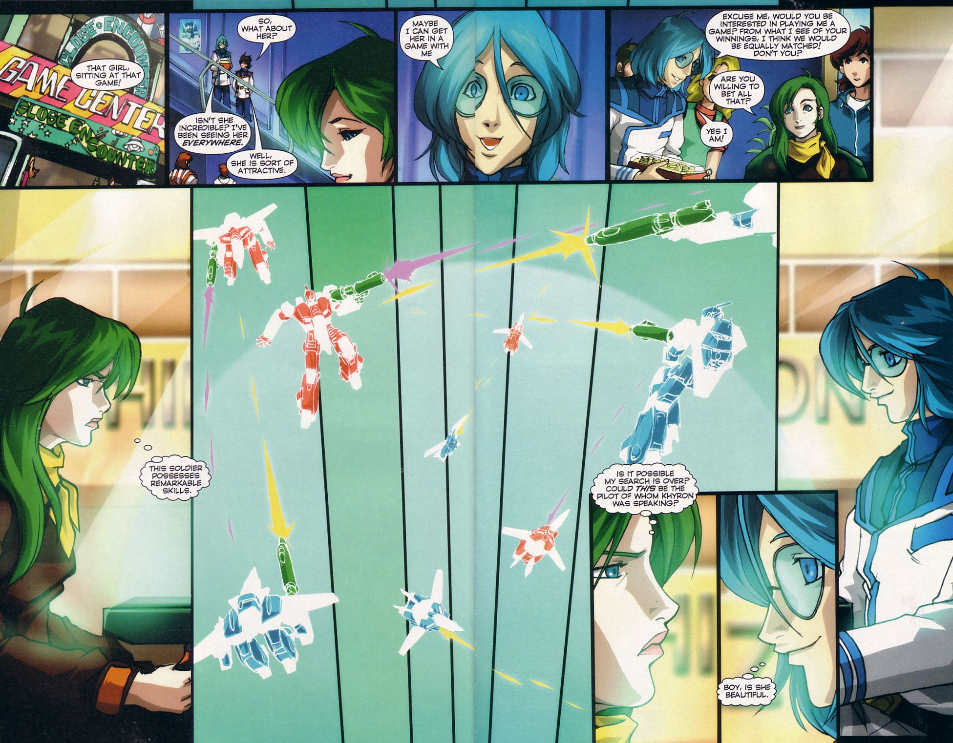 Read online Robotech: Love and War comic -  Issue #5 - 13