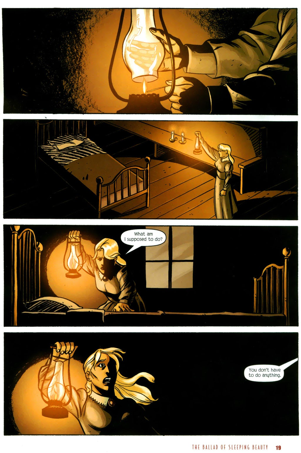 Read online The Ballad of Sleeping Beauty comic -  Issue #6 - 21
