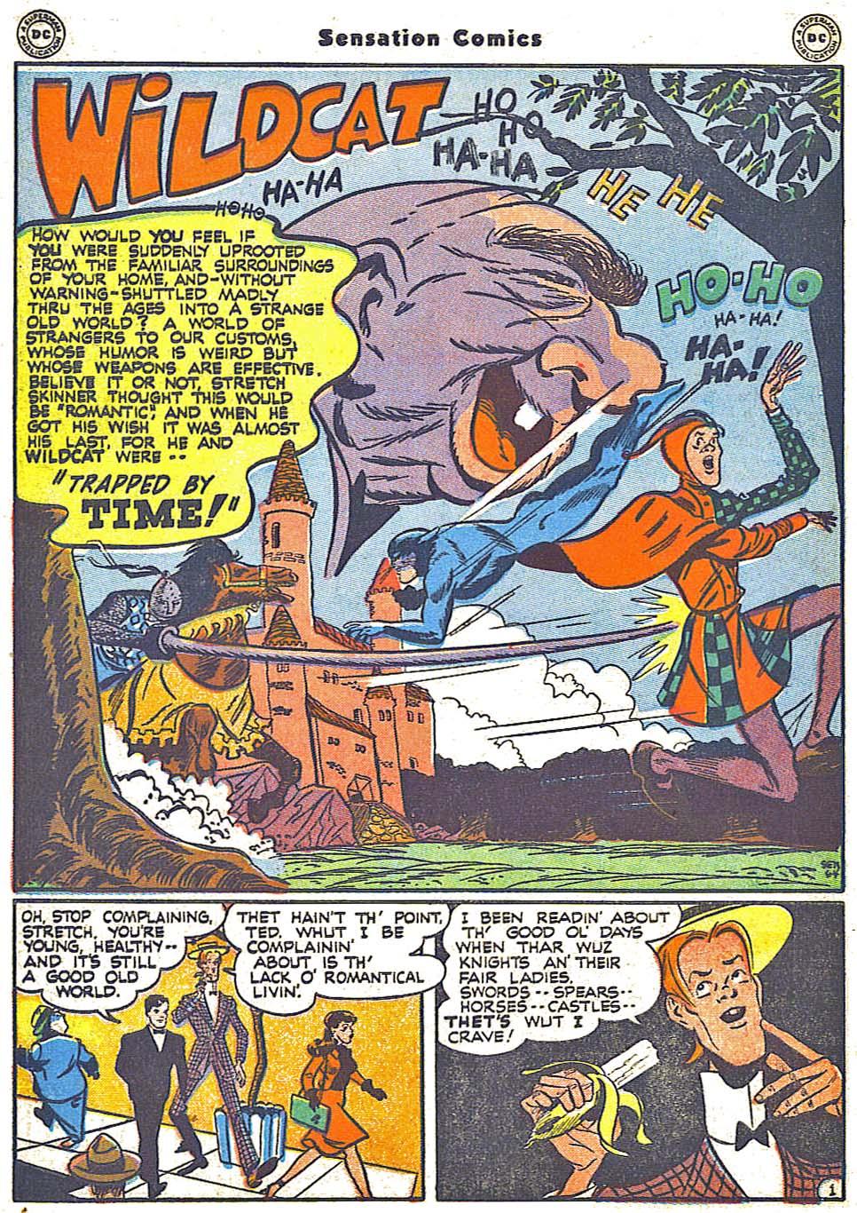 Read online Sensation (Mystery) Comics comic -  Issue #64 - 42
