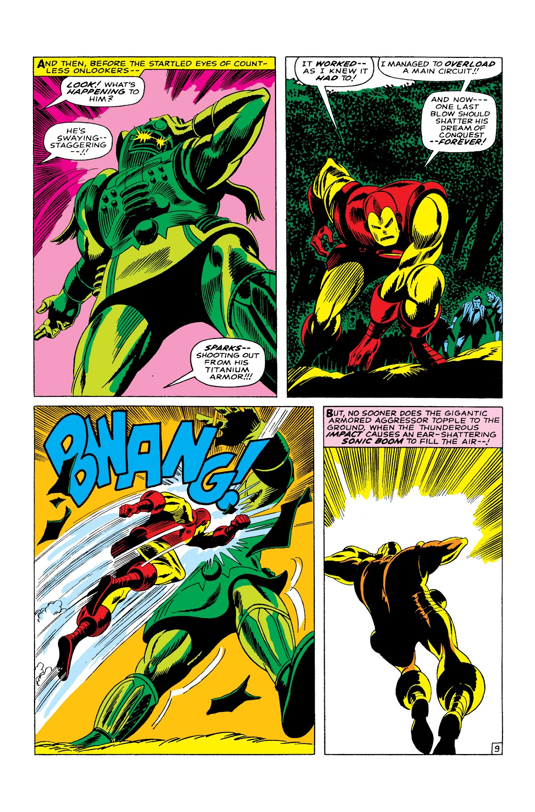 Read online Marvel Masterworks: The Invincible Iron Man comic -  Issue # TPB 3 (Part 5) - 3