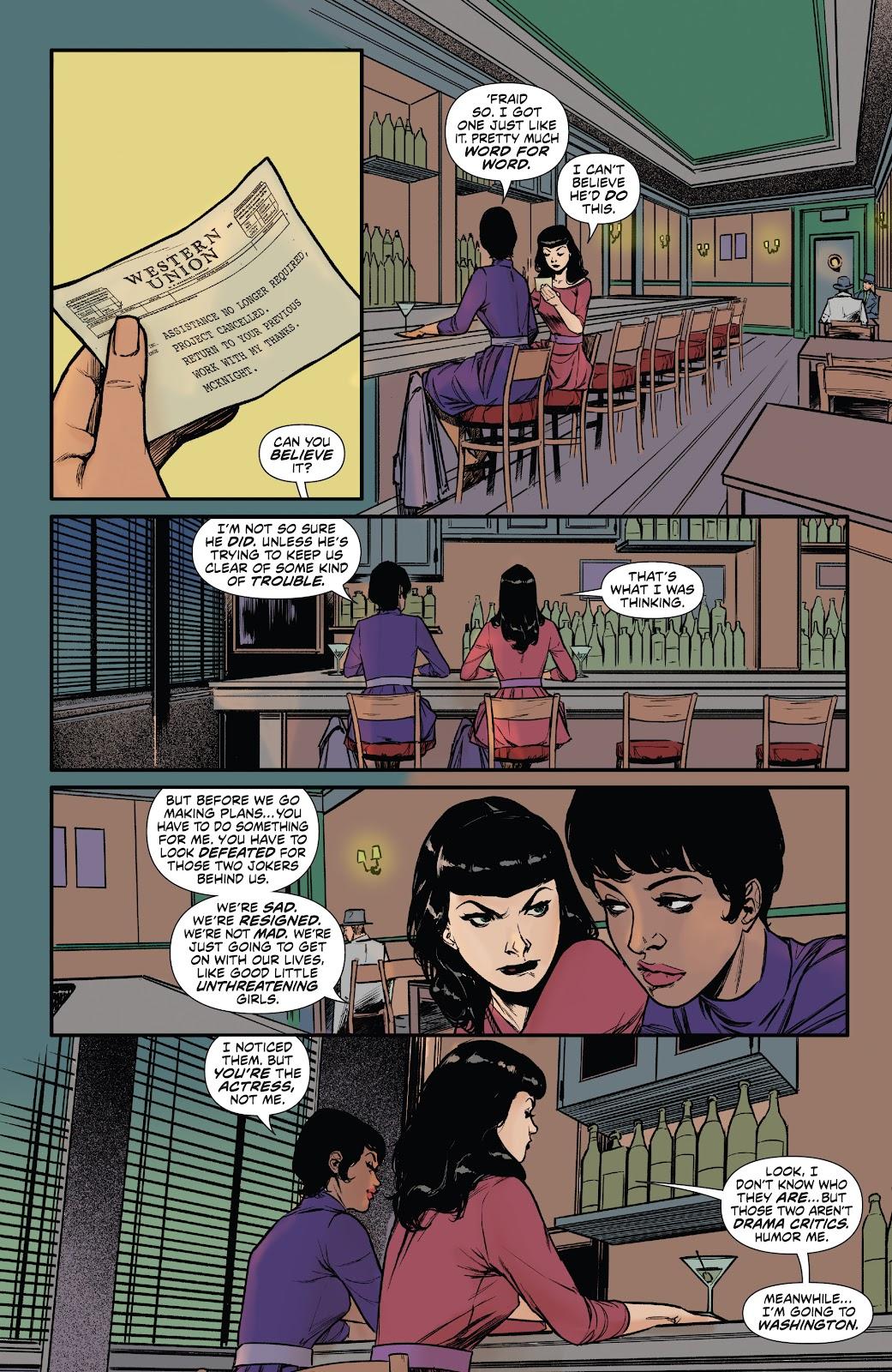 Read online Bettie Page: Unbound comic -  Issue #6 - 16