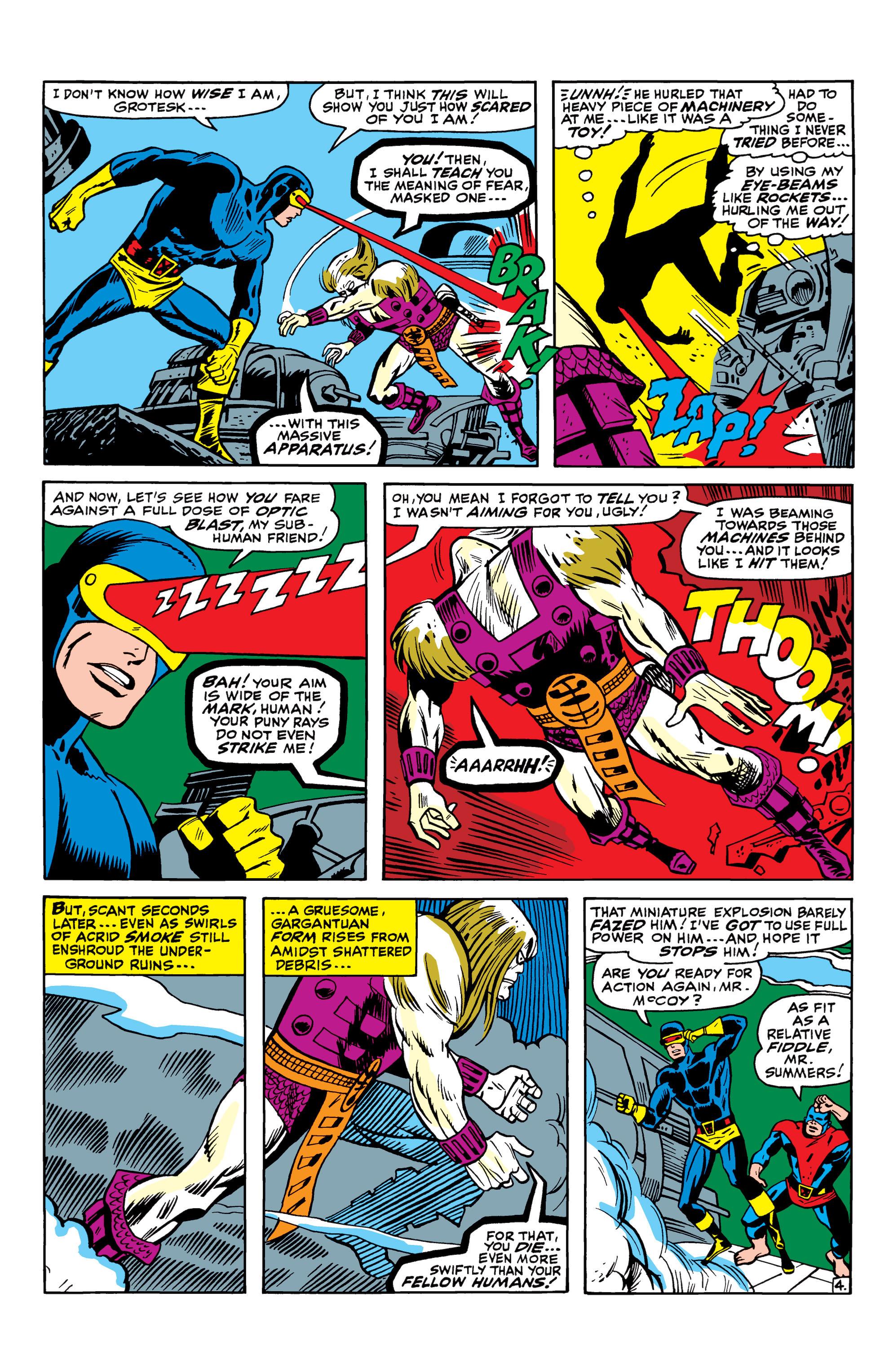 Read online Uncanny X-Men (1963) comic -  Issue #42 - 5