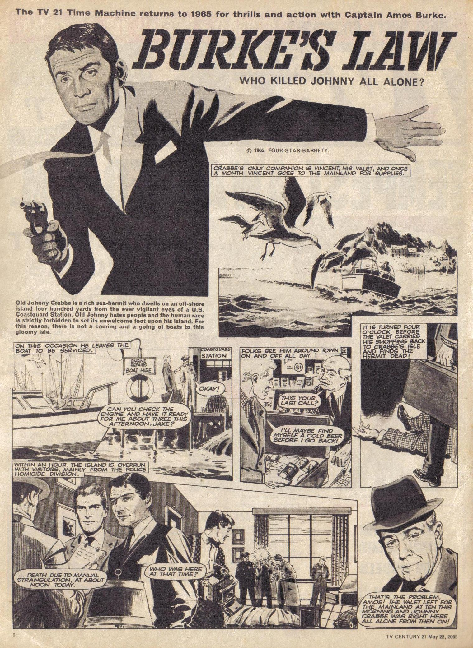 Read online TV Century 21 (TV 21) comic -  Issue #18 - 3