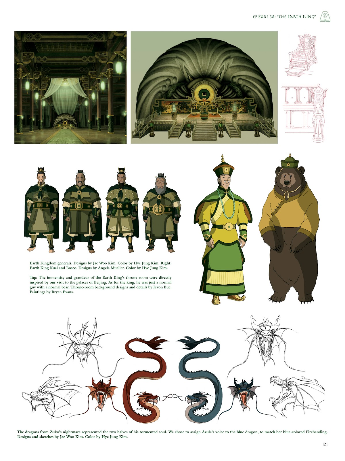 Read online Avatar: The Last Airbender - The Art of the Animated Series comic -  Issue # TPB (Part 2) - 20