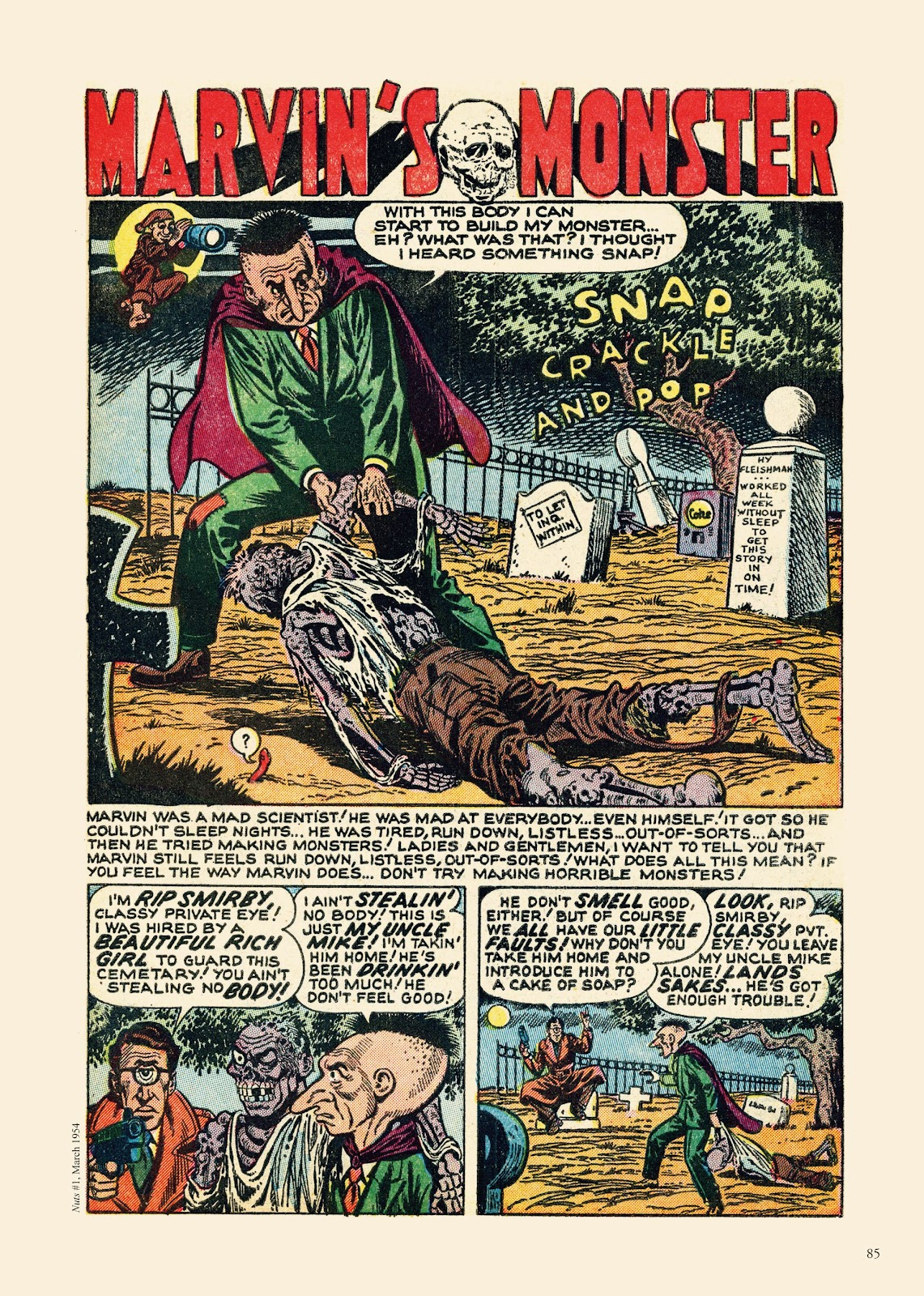 Read online Sincerest Form of Parody: The Best 1950s MAD-Inspired Satirical Comics comic -  Issue # TPB (Part 1) - 86