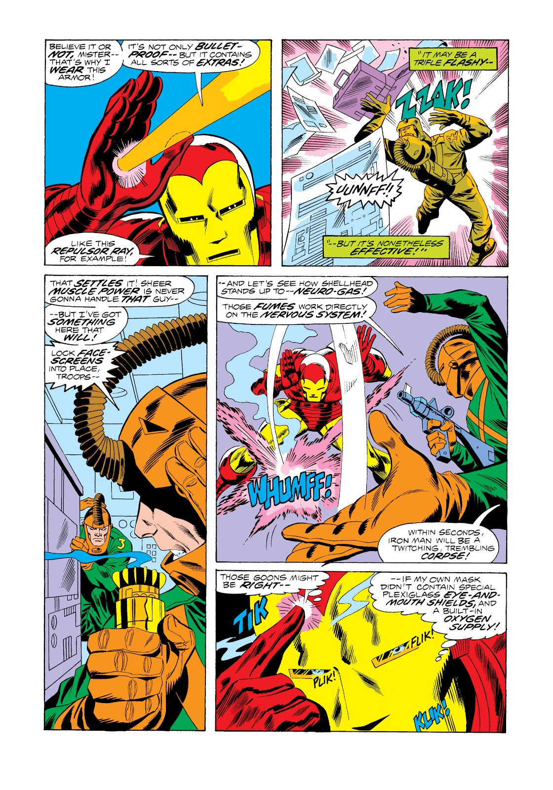 Read online Marvel Masterworks: The Invincible Iron Man comic -  Issue # TPB 11 (Part 1) - 11