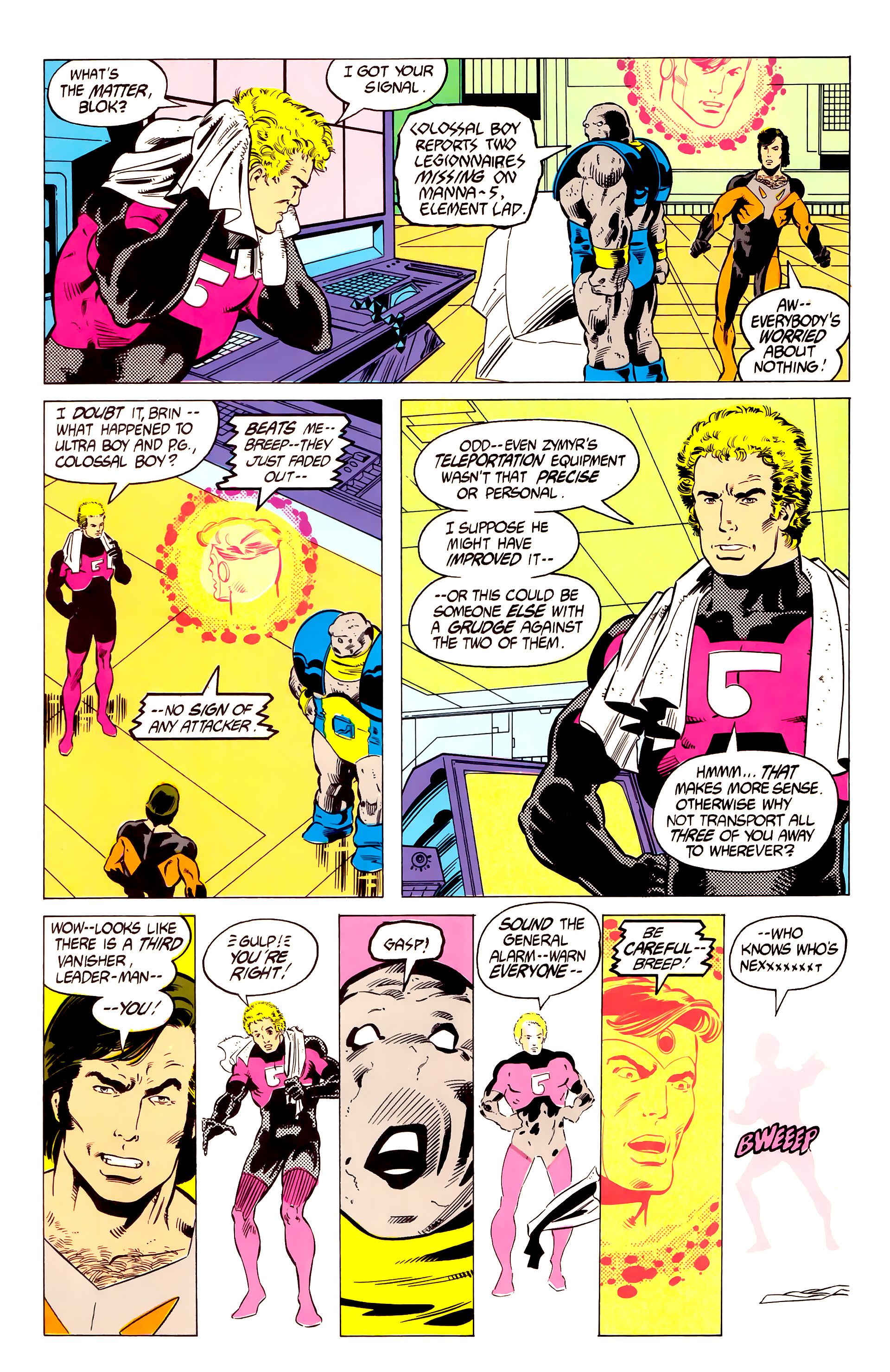 Legion of Super-Heroes (1984) 19 Page 6