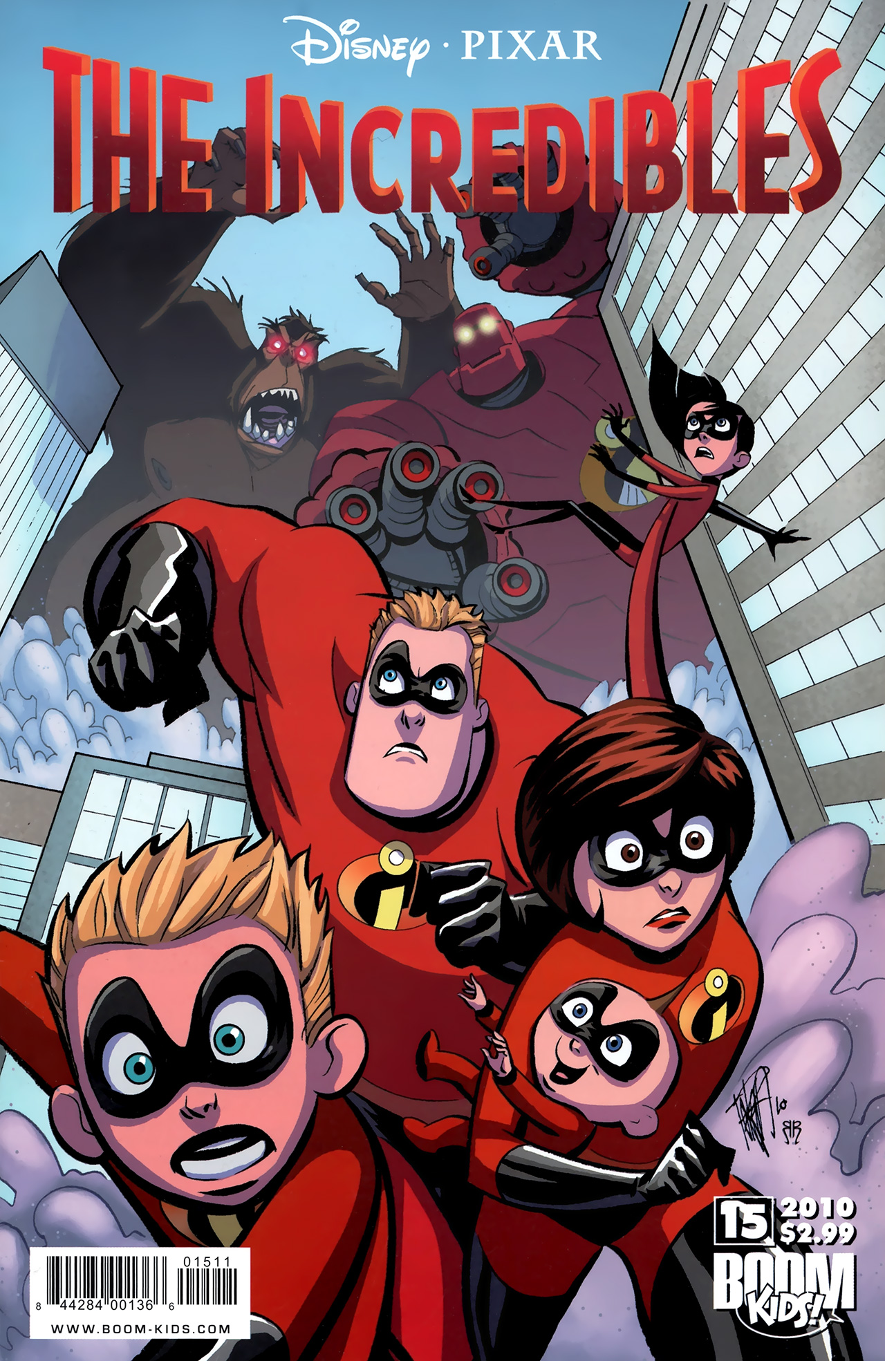 The Incredibles (2009) 15 Page 1