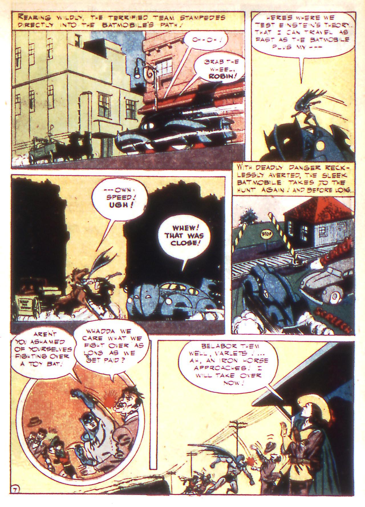 Read online Detective Comics (1937) comic -  Issue #81 - 9