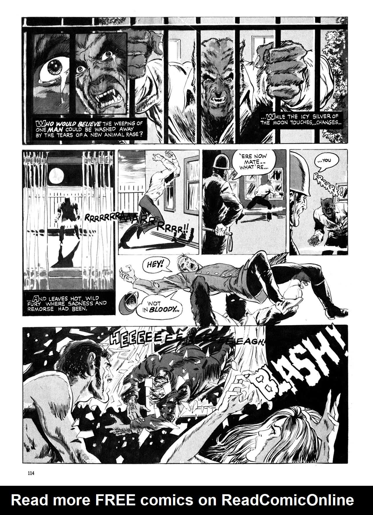 Read online Eerie Archives comic -  Issue # TPB 10 - 115