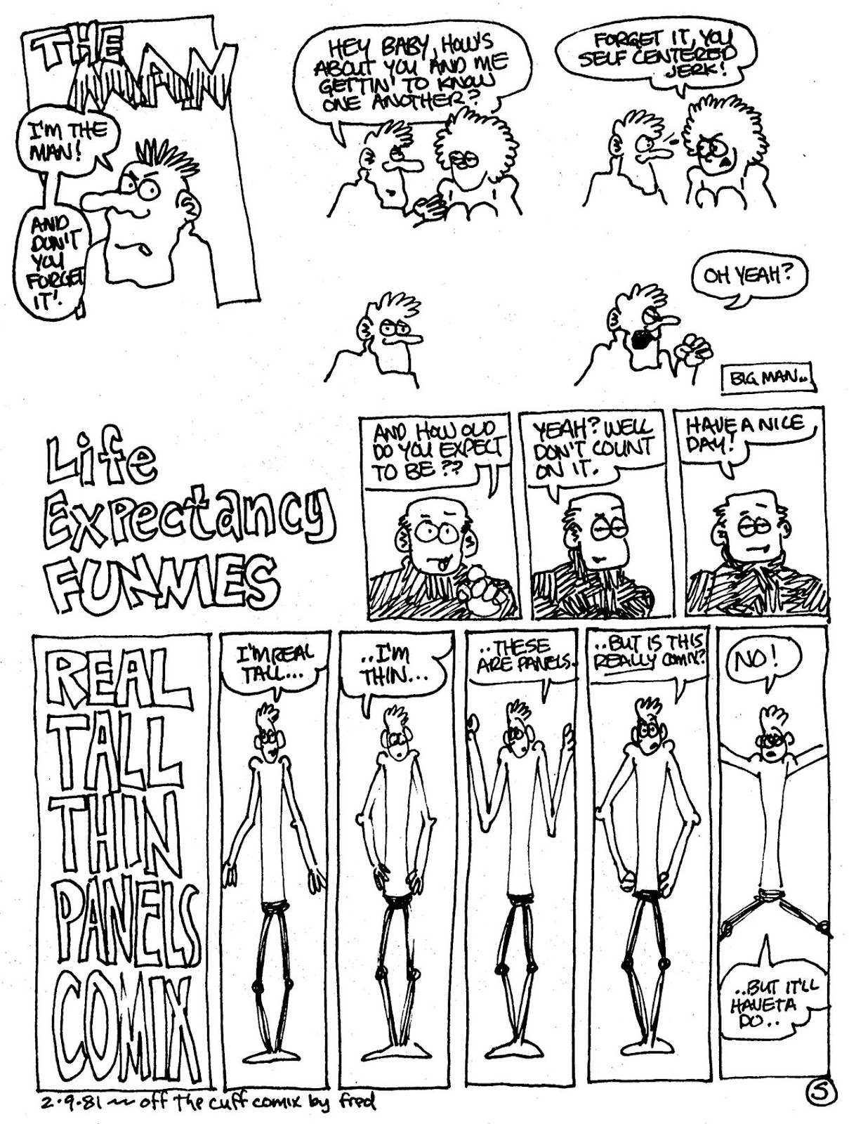 Read online The Nearly Complete Essential Hembeck Archives Omnibus comic -  Issue # TPB (Part 5) - 48