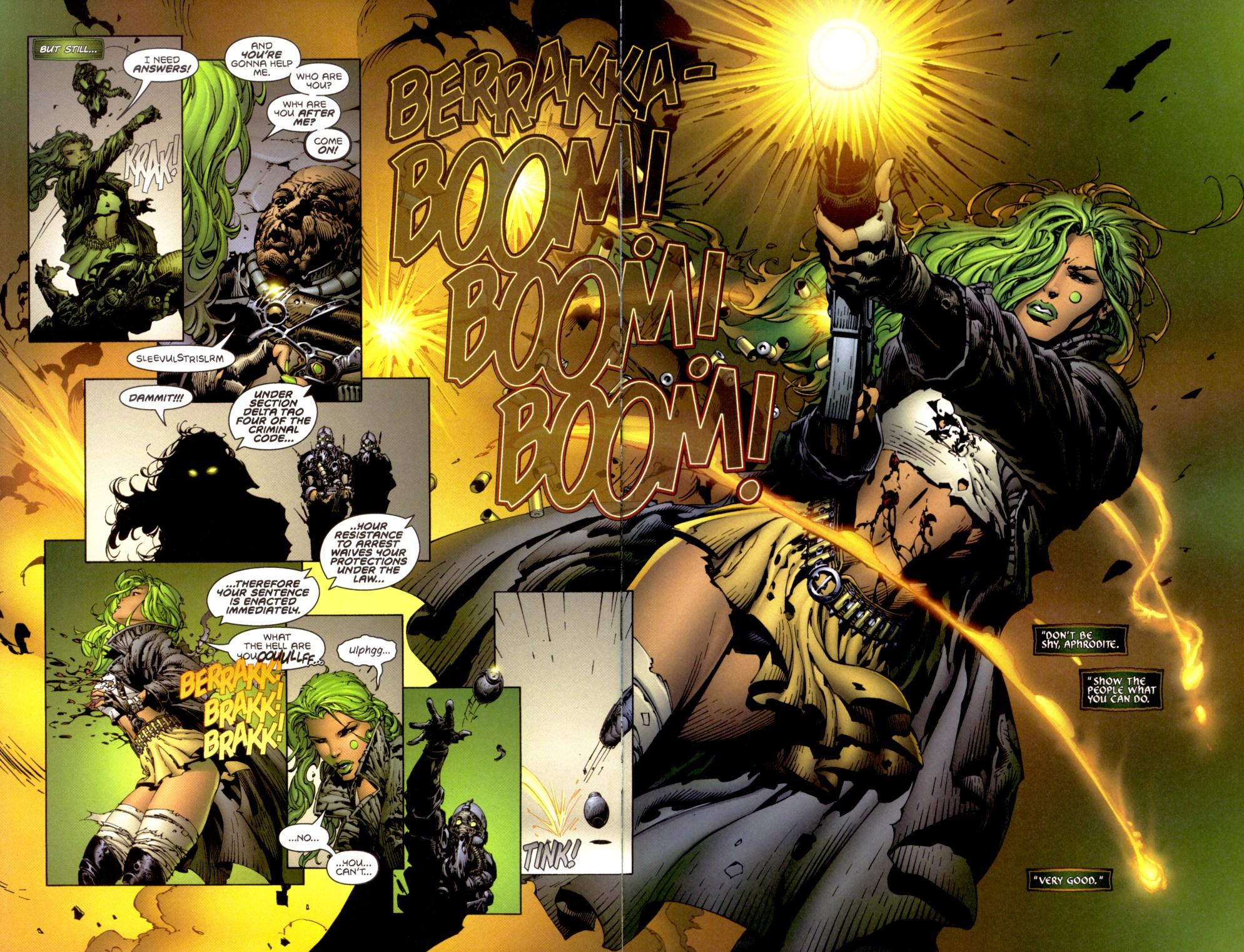Read online Aphrodite IX (2000) comic -  Issue #1 - 8