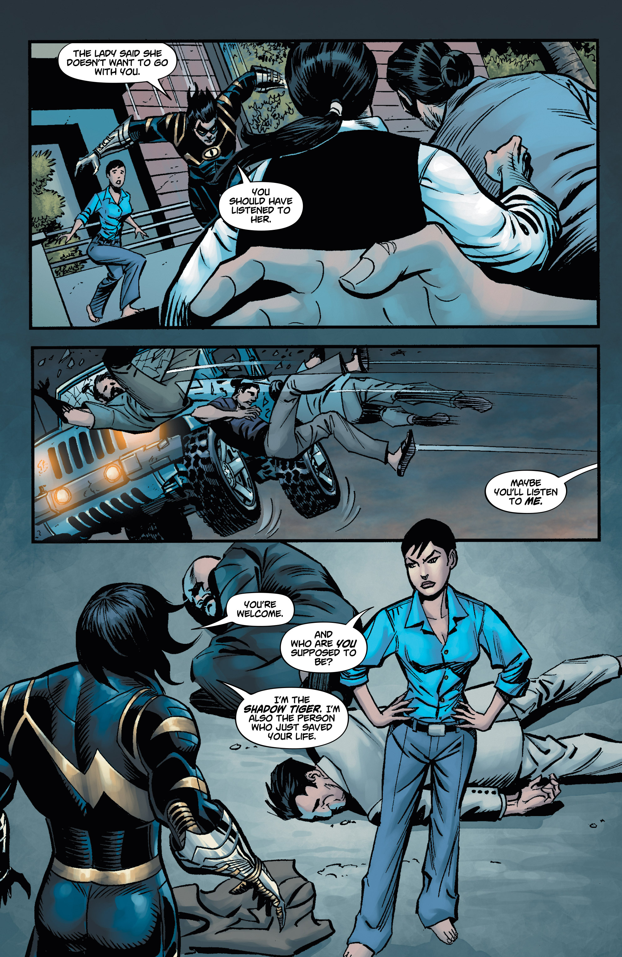 Read online Shadow Tiger comic -  Issue #2 - 19