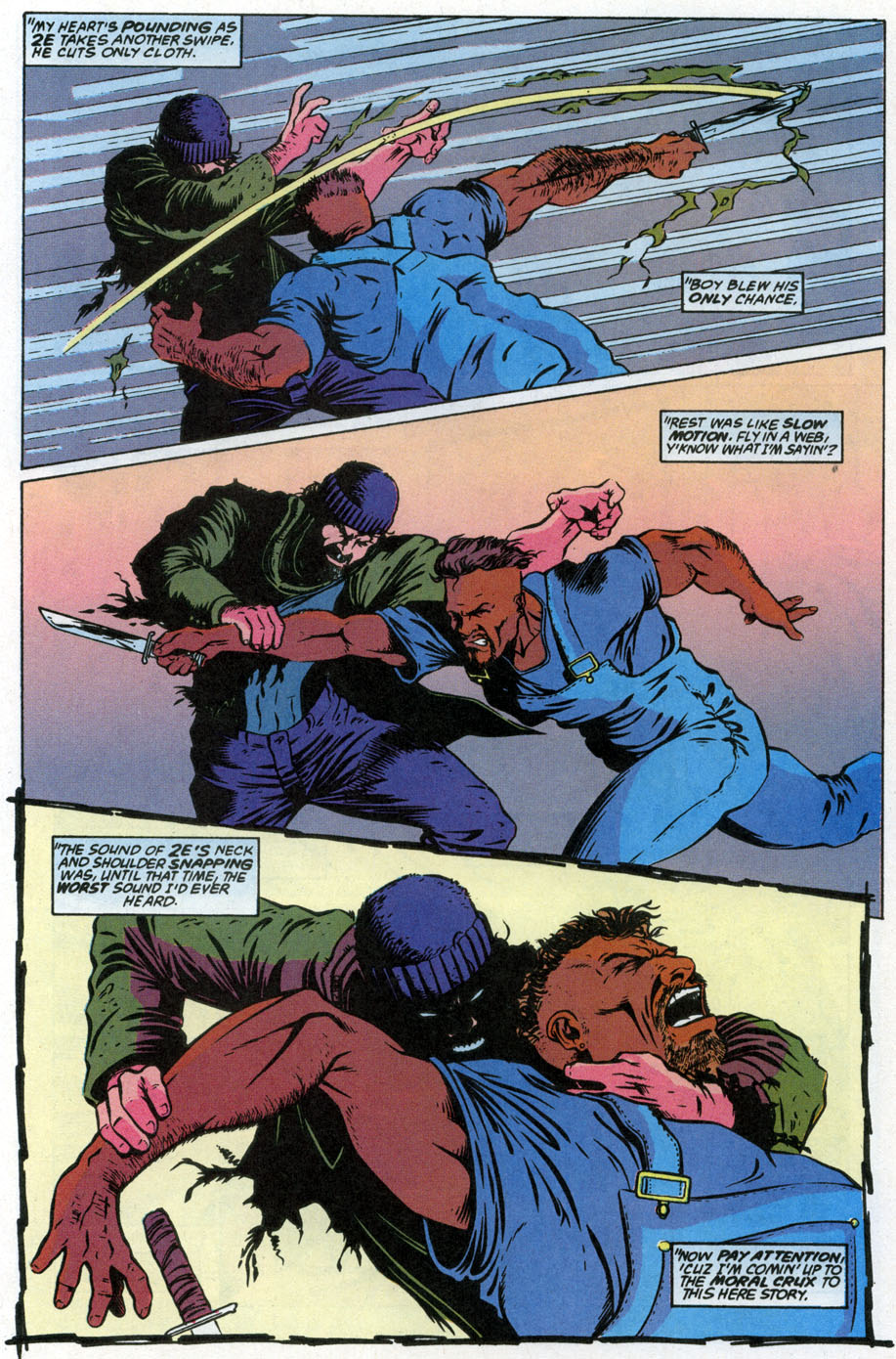 Comic The Punisher Back to School Special issue 3
