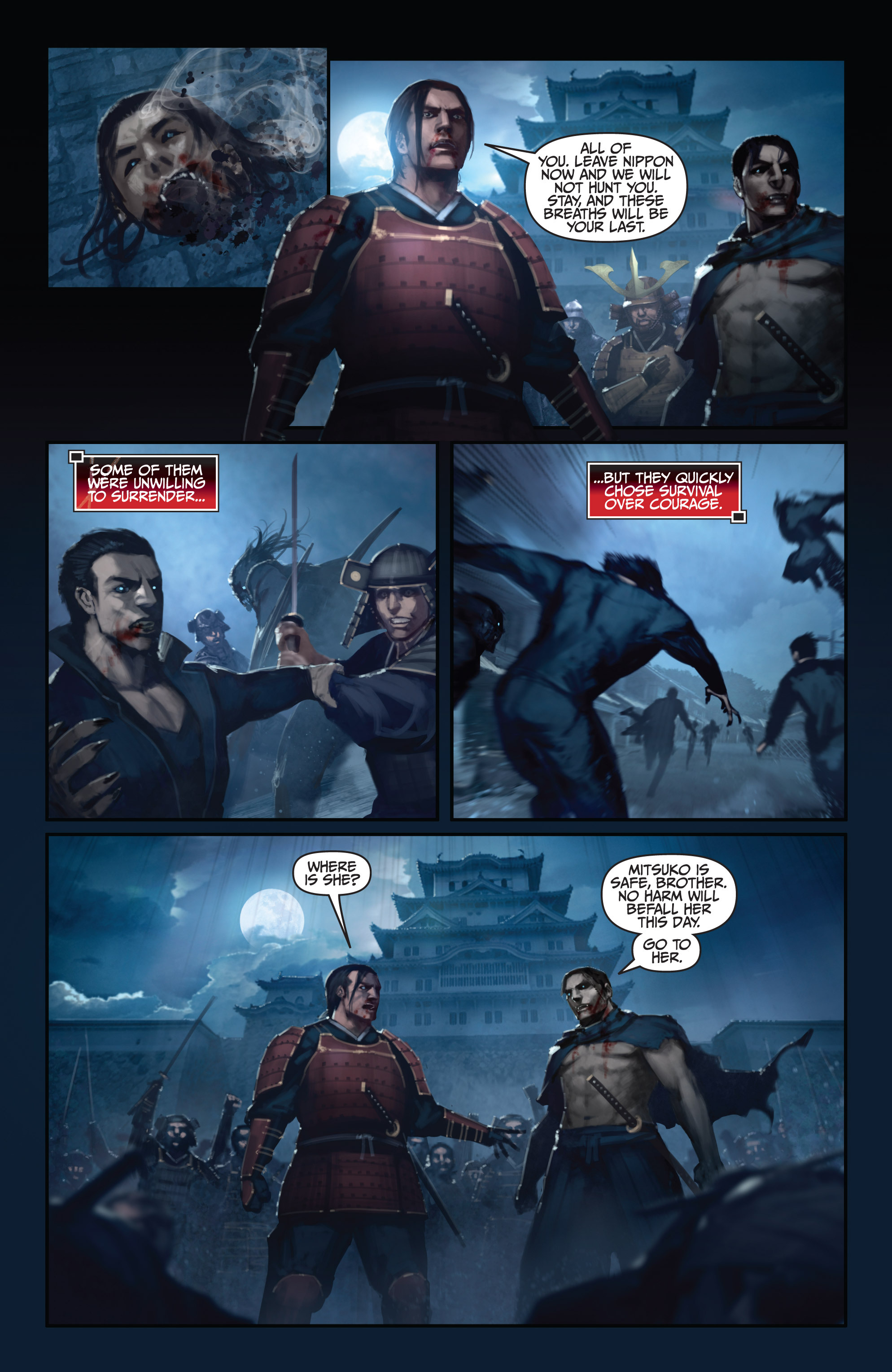 Read online Bushido: The Way of the Warrior comic -  Issue #5 - 19