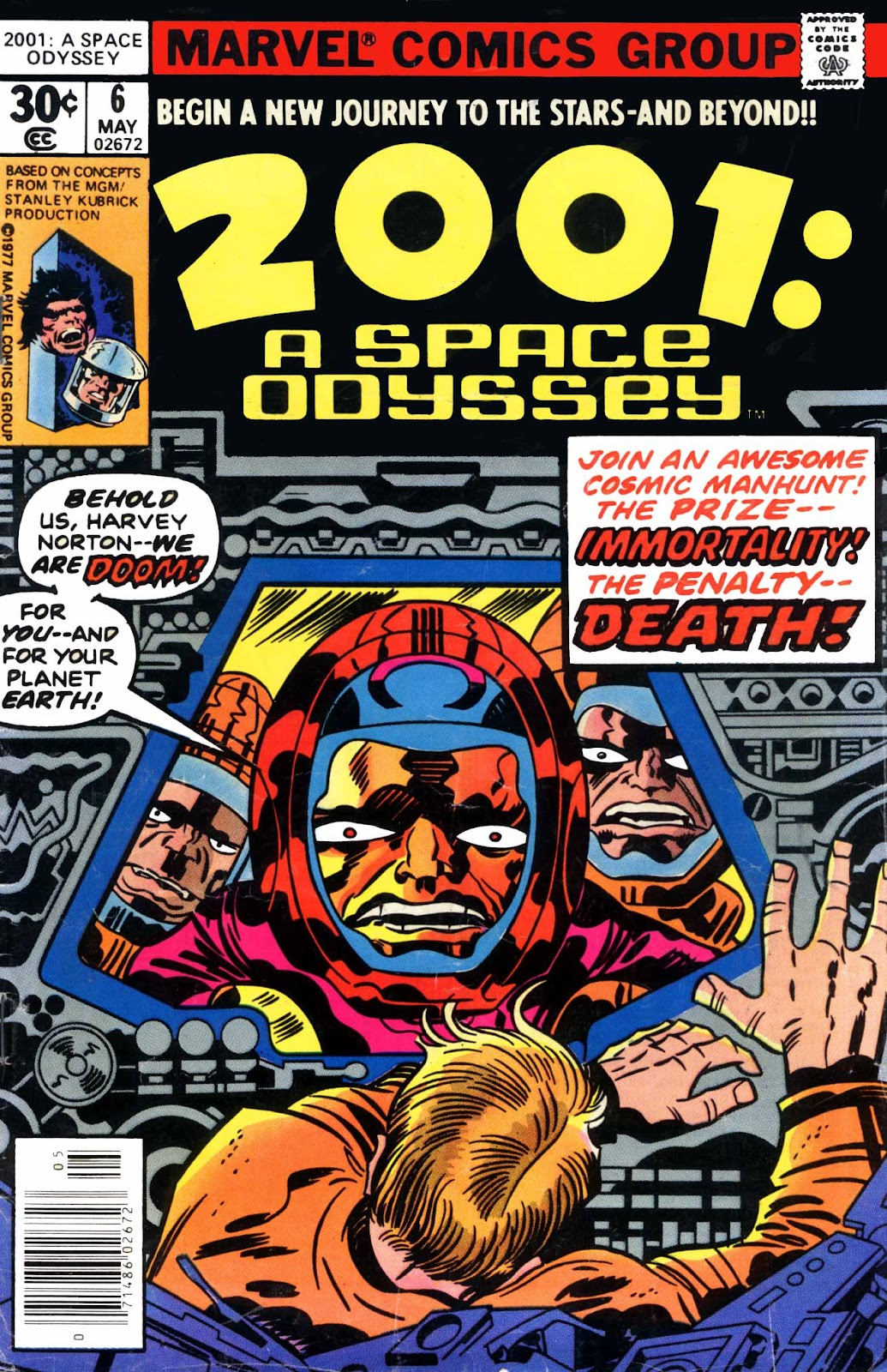 2001: A Space Odyssey issue 6 - Page 1