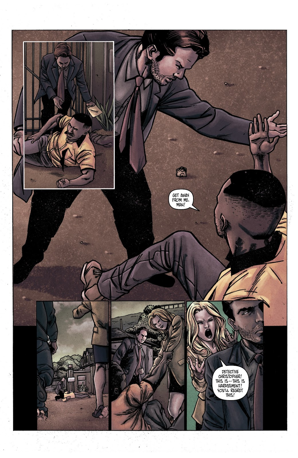 Read online Vindication comic -  Issue #1 - 7