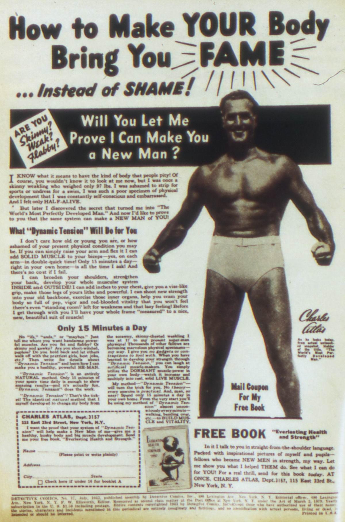 Read online Detective Comics (1937) comic -  Issue #77 - 2
