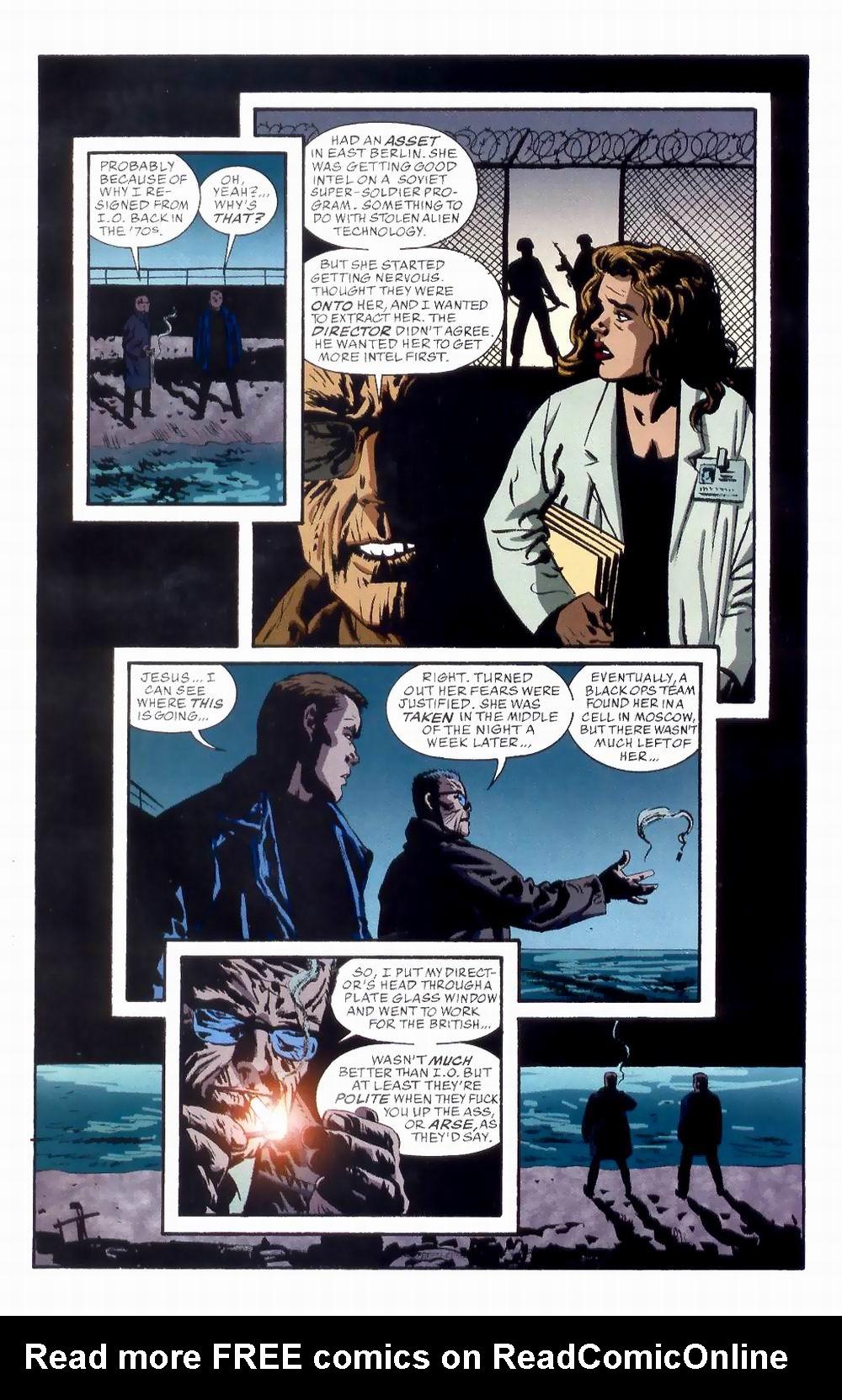 Read online Sleeper comic -  Issue #8 - 7