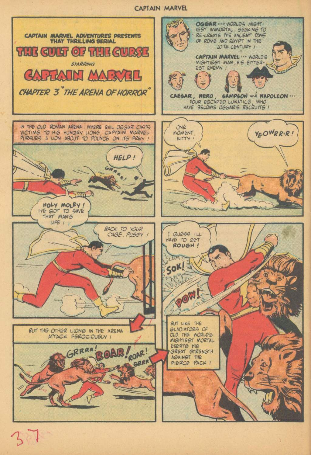 Captain Marvel Adventures issue 63 - Page 40