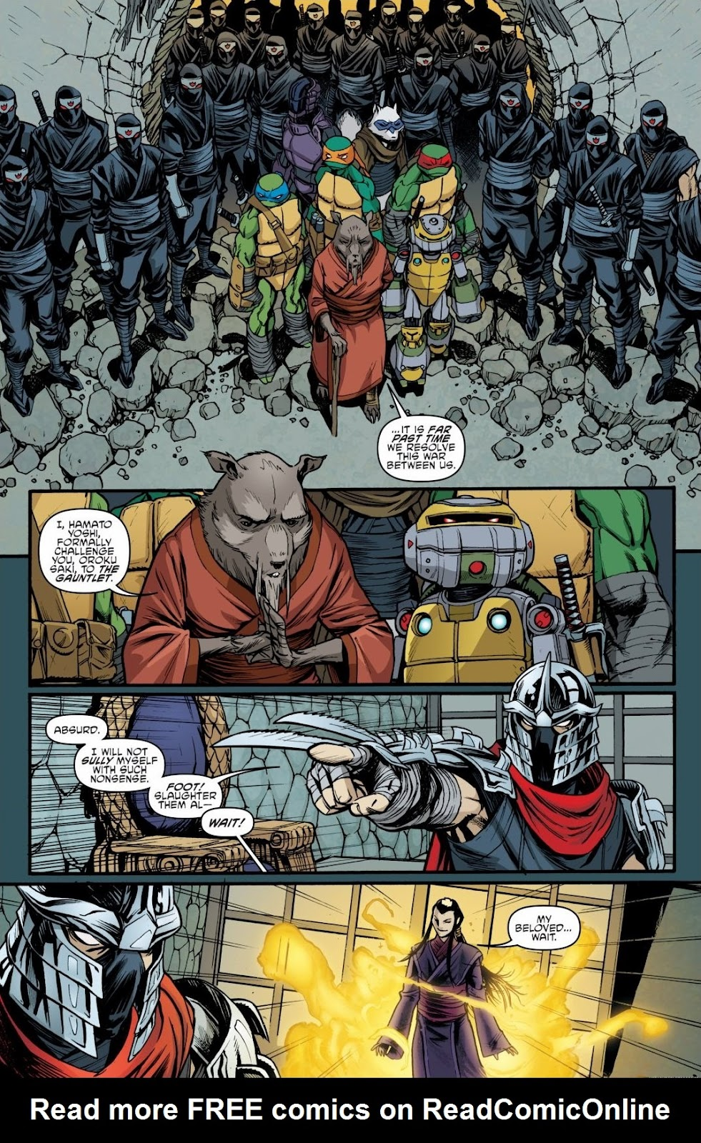 Read online Teenage Mutant Ninja Turtles: The IDW Collection comic -  Issue # TPB 6 (Part 3) - 26
