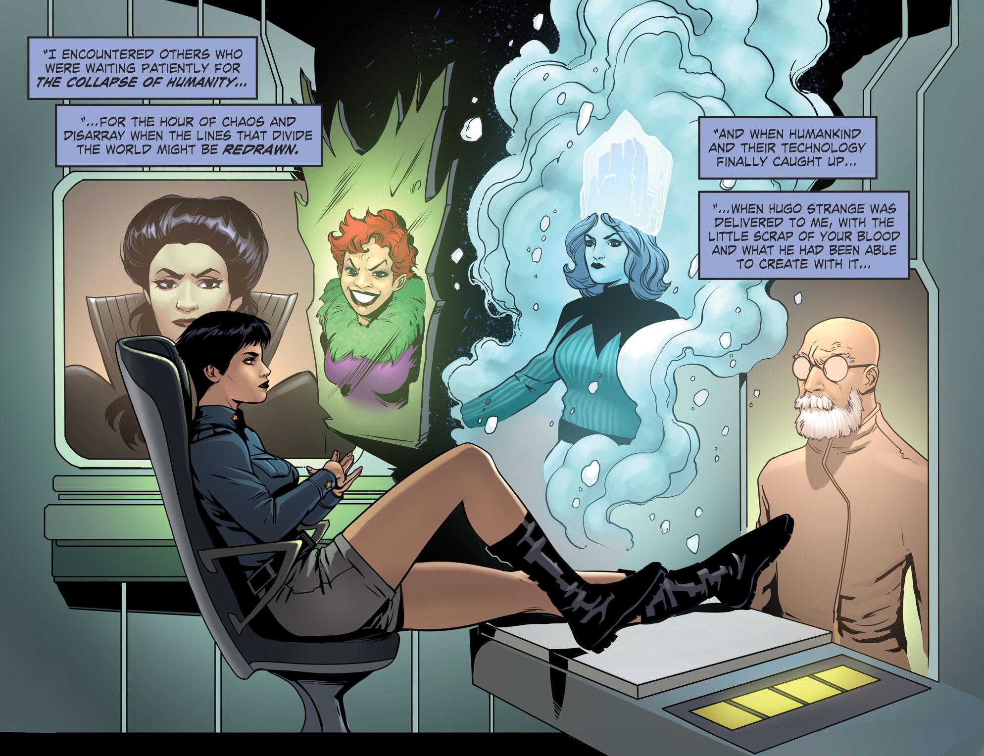 Read online DC Comics: Bombshells comic -  Issue #94 - 16