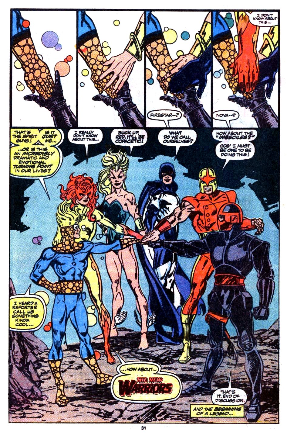 The New Warriors Issue #1 #5 - English 24